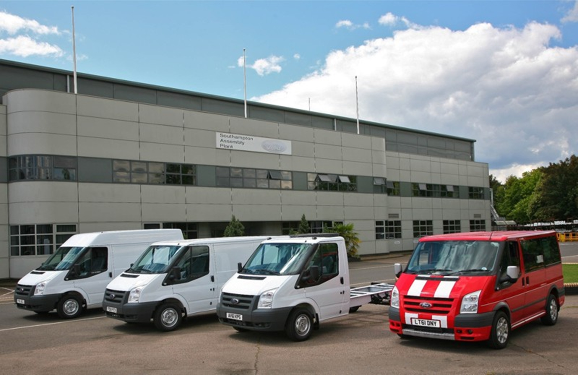 Ford commercial vehicles have been the UK's favourite