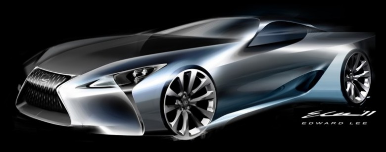 LF-LC Hybrid Sports Coupe Concept