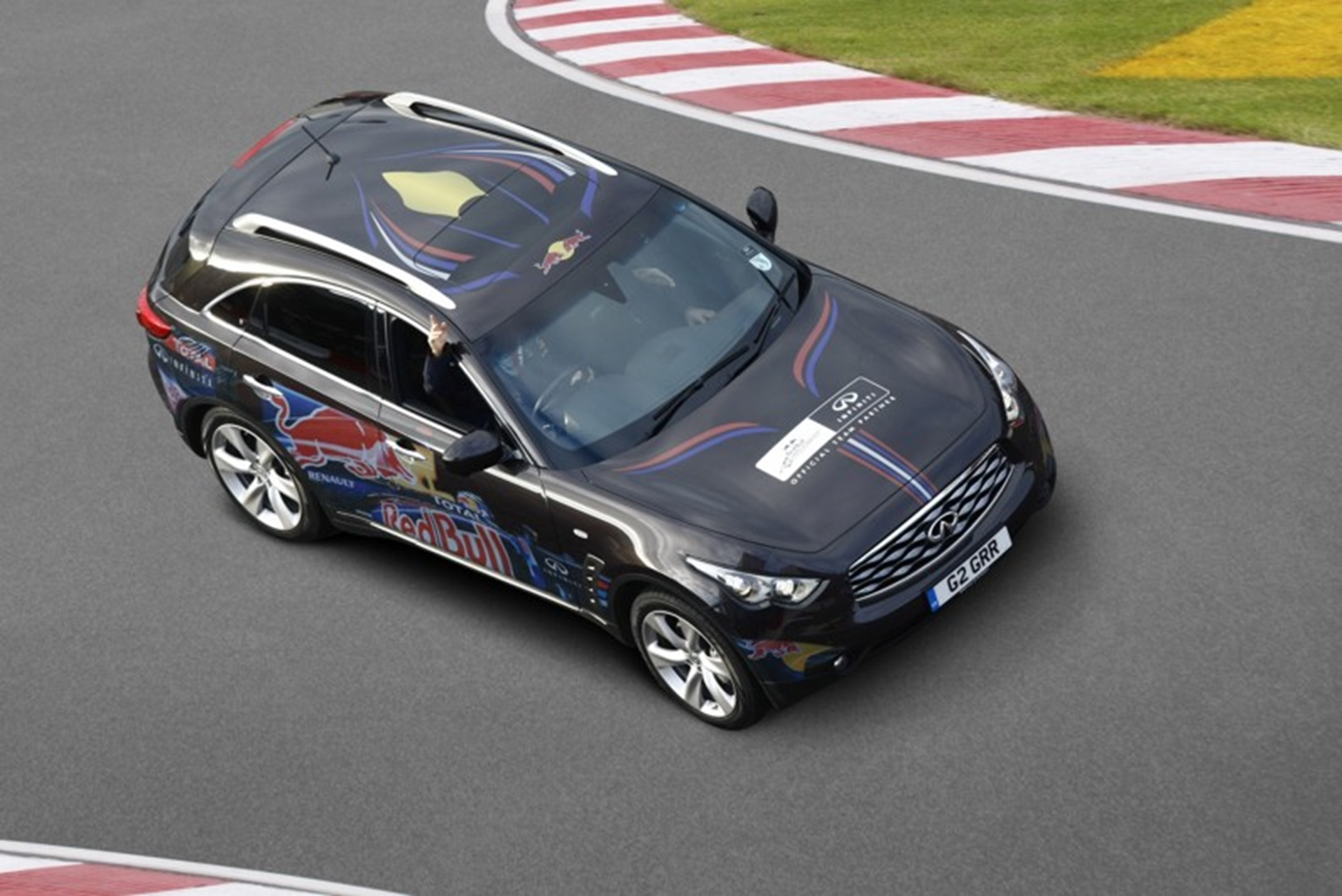 Test-drive an Infinti to the Spanish Grand Prix