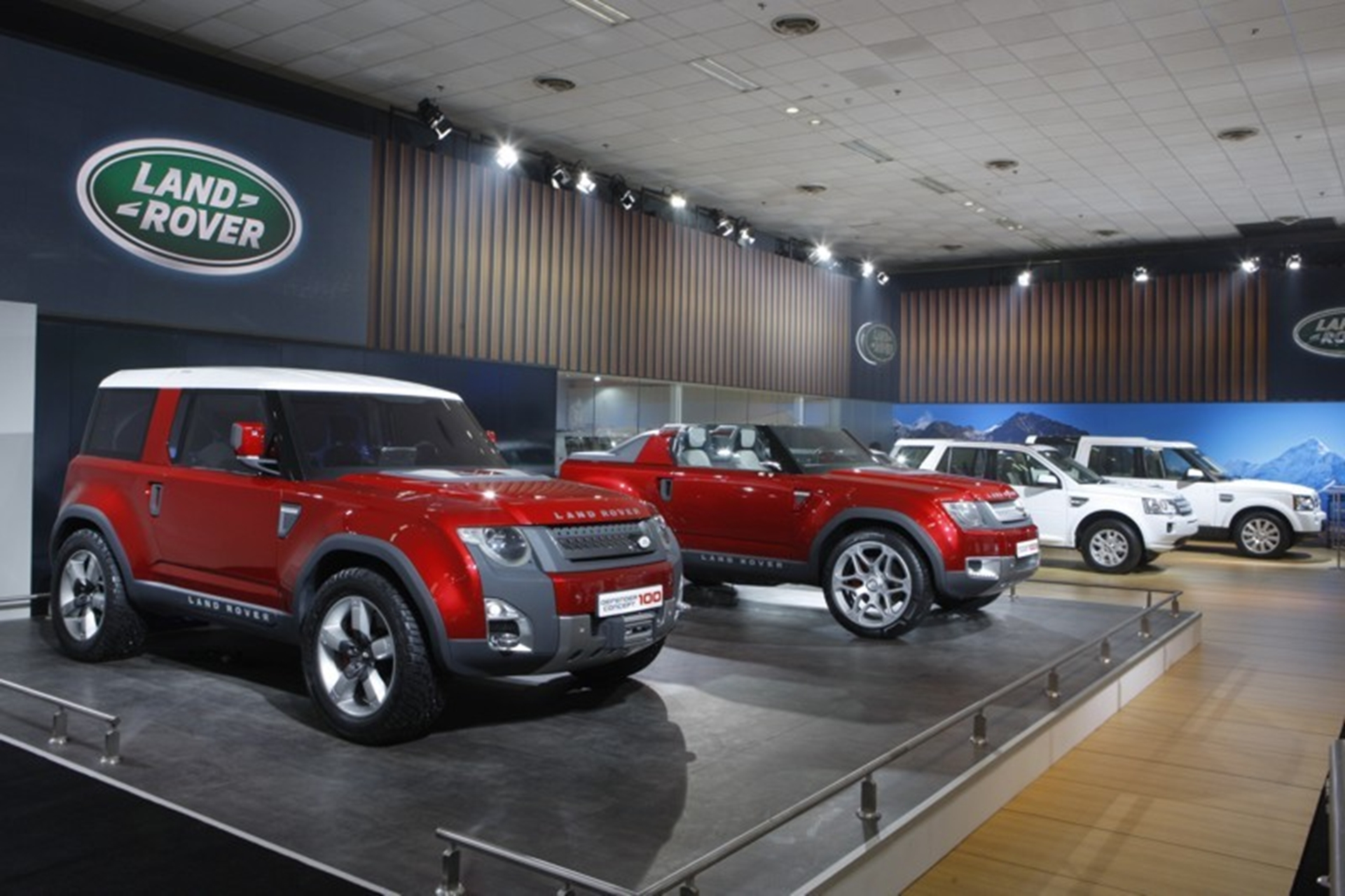 Land Rover Defender Auto Expo 2012