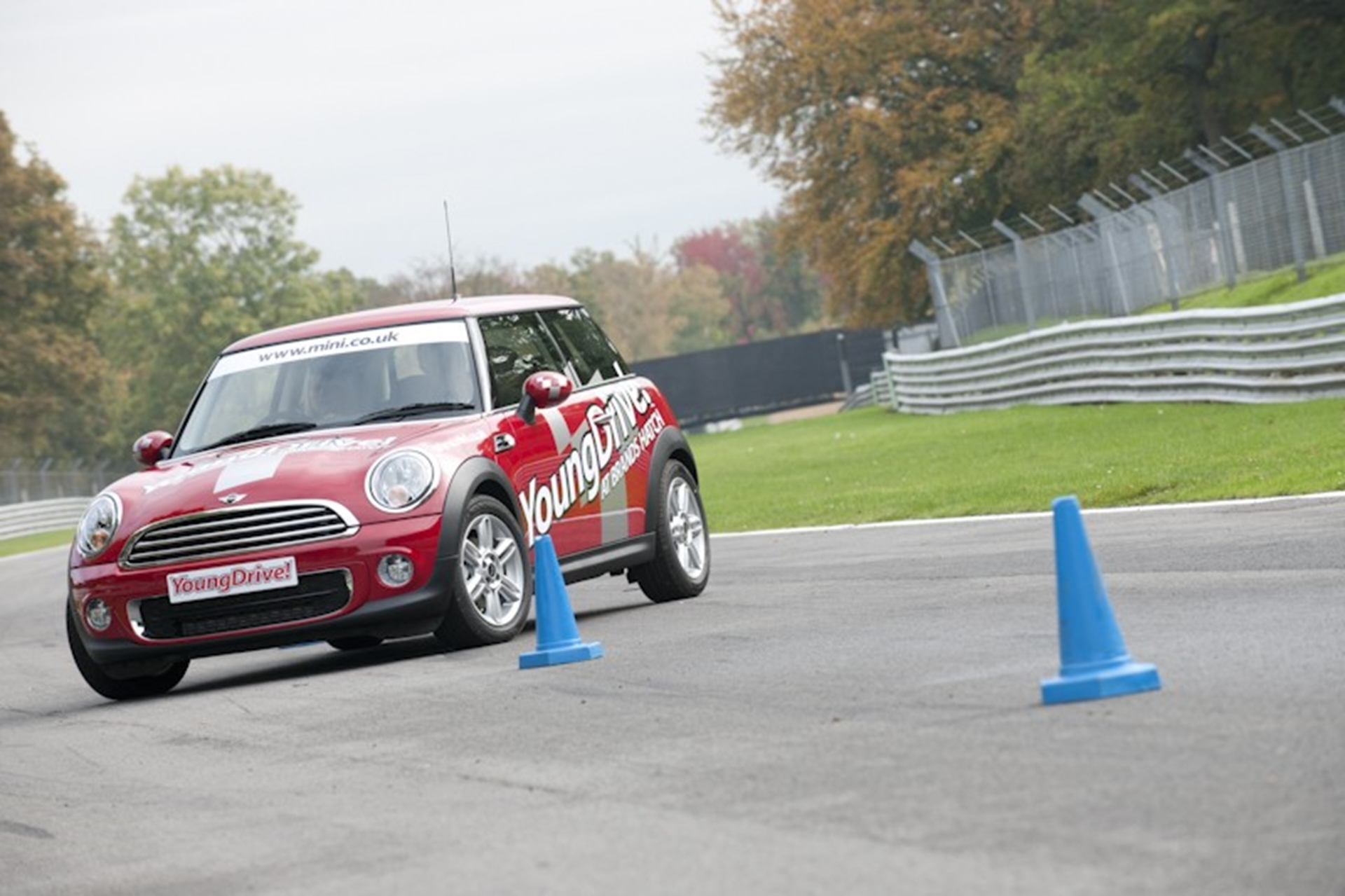 MINI takes youngsters out on the track with YoungDrive