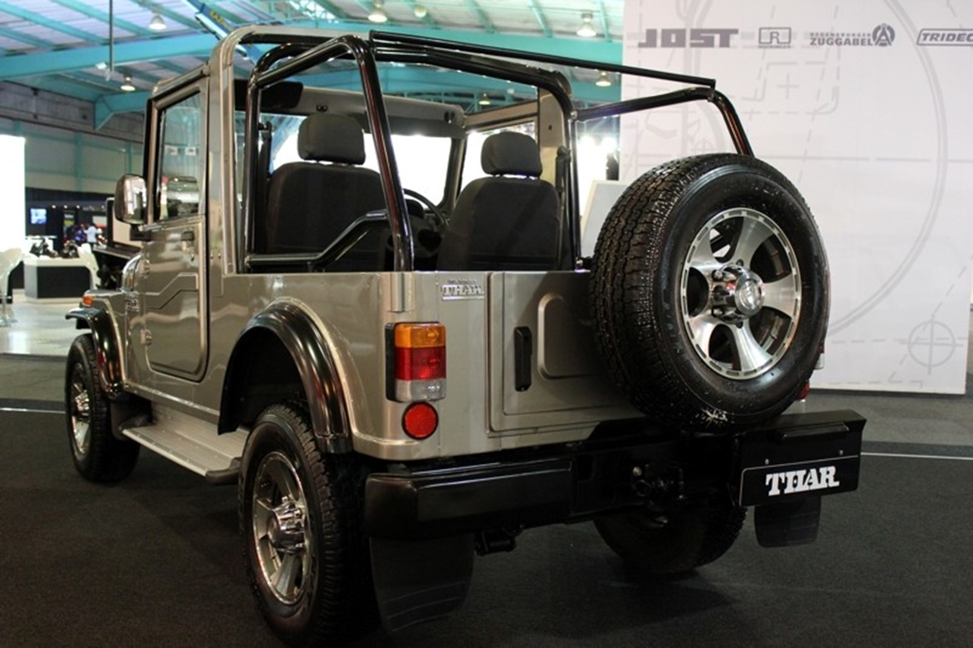 Mahindra Thar Rear View 2012