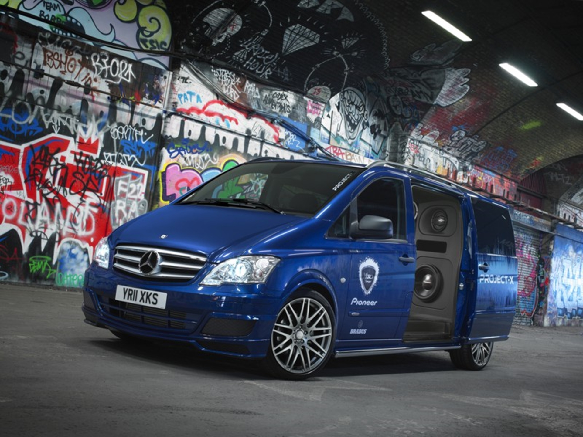 Mercedes-Benz mixes it up with Pioneer for ultimate DJ van