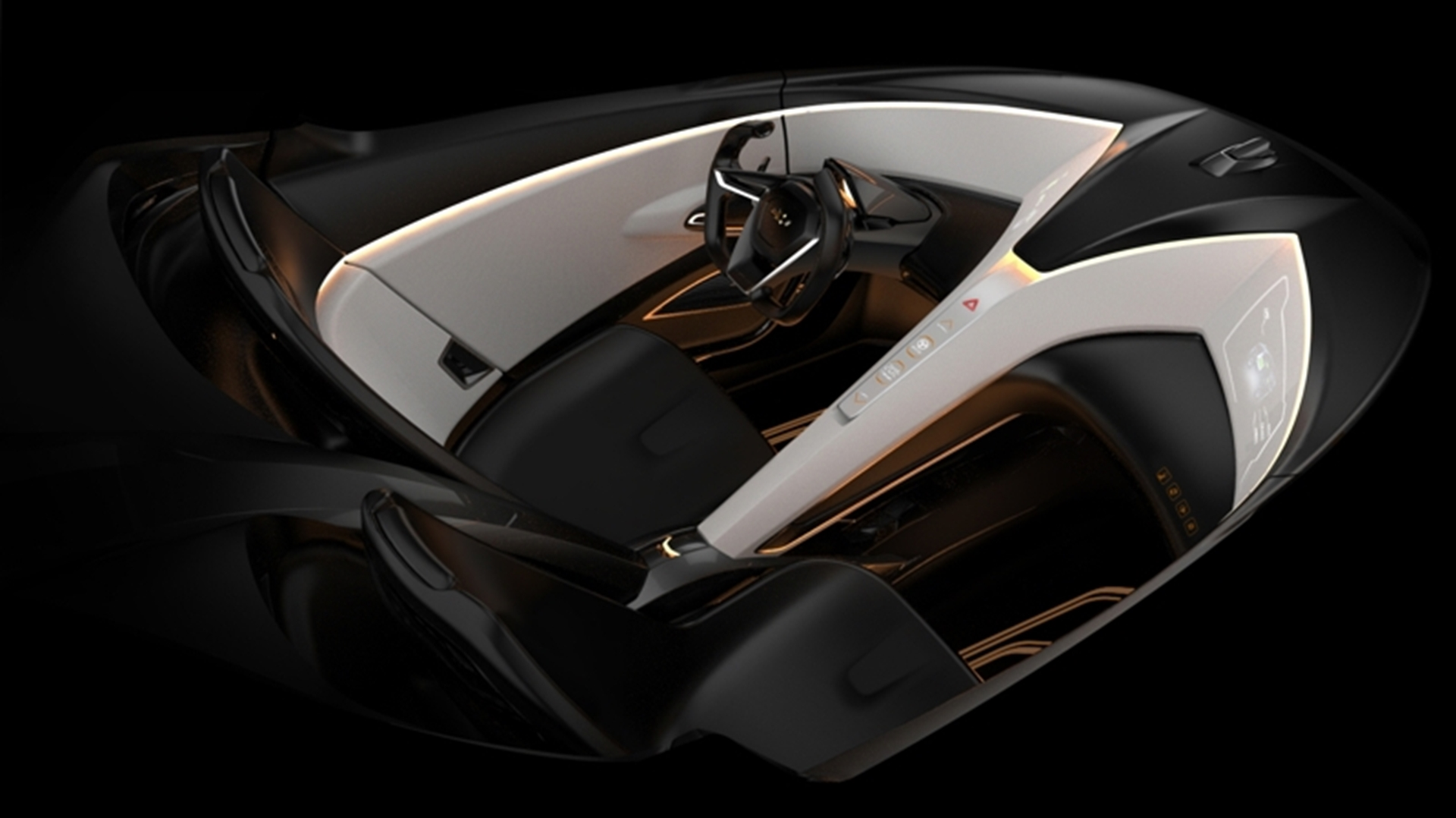 Miray Roadster Concept Vehicle interior