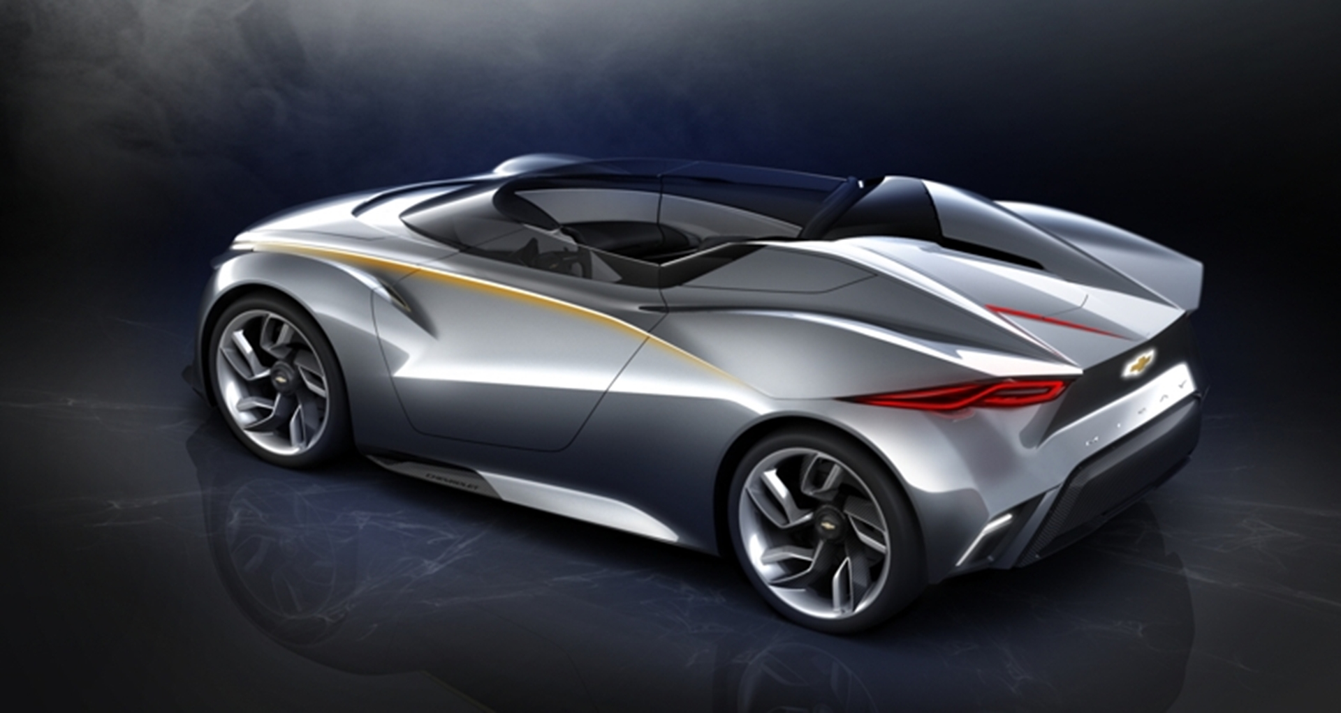 Miray Roadster Concept Vehicle Rear