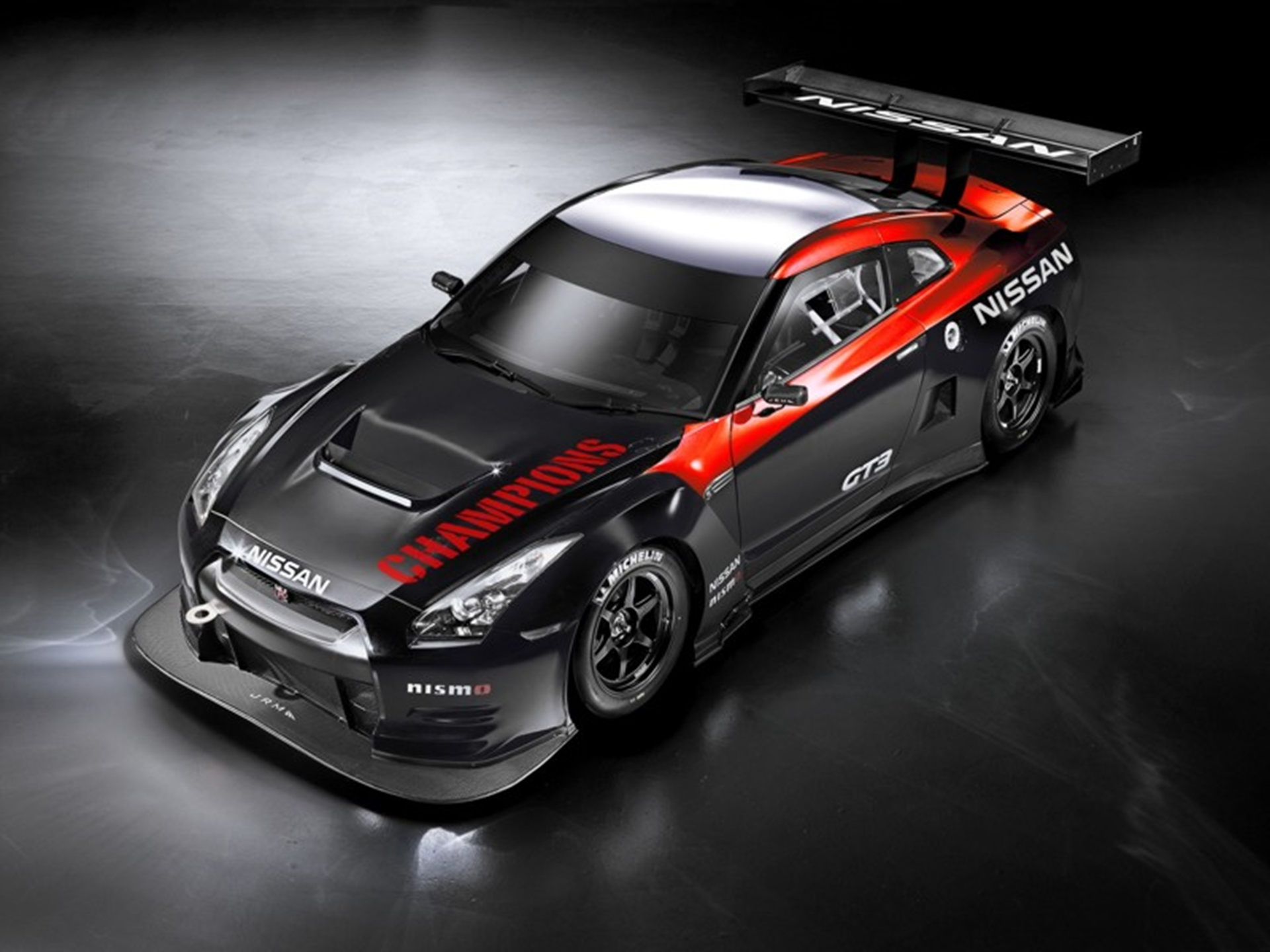 The Nissan GT-R Nismo GT3