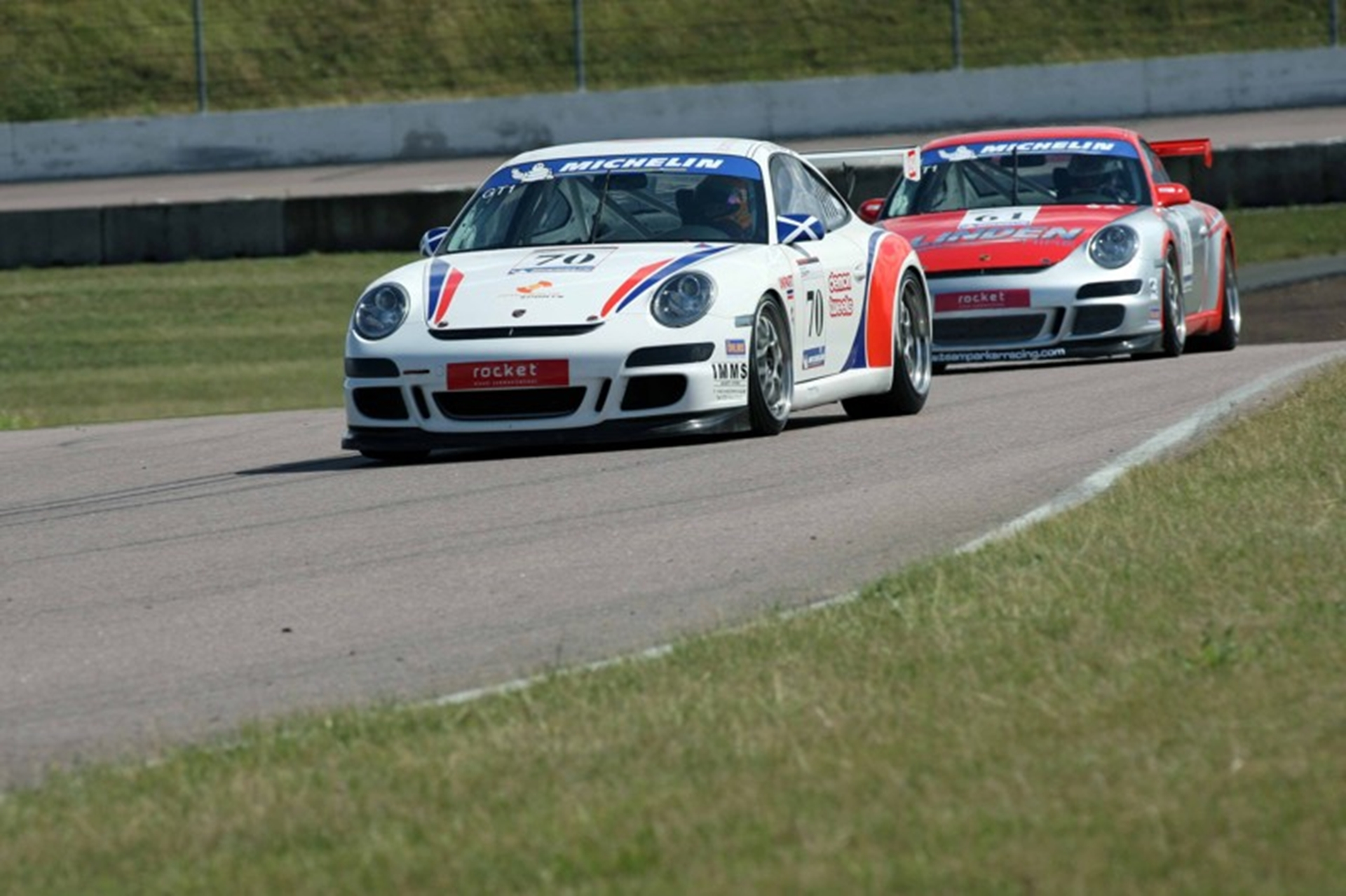 The Porsche GT3 Cup Challenge revs up for 2012