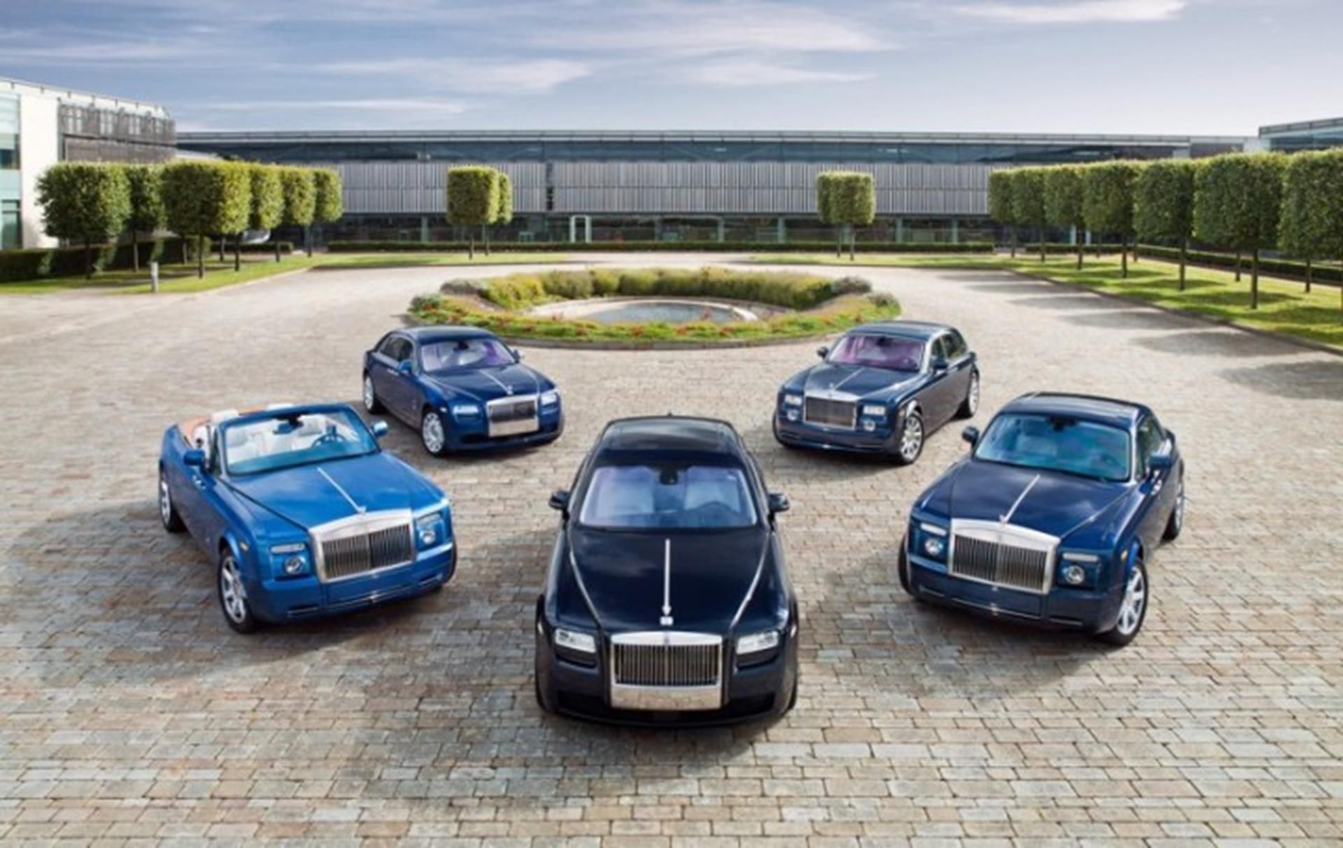 The home of Rolls-Royce Motor Cars - Goodwood, England