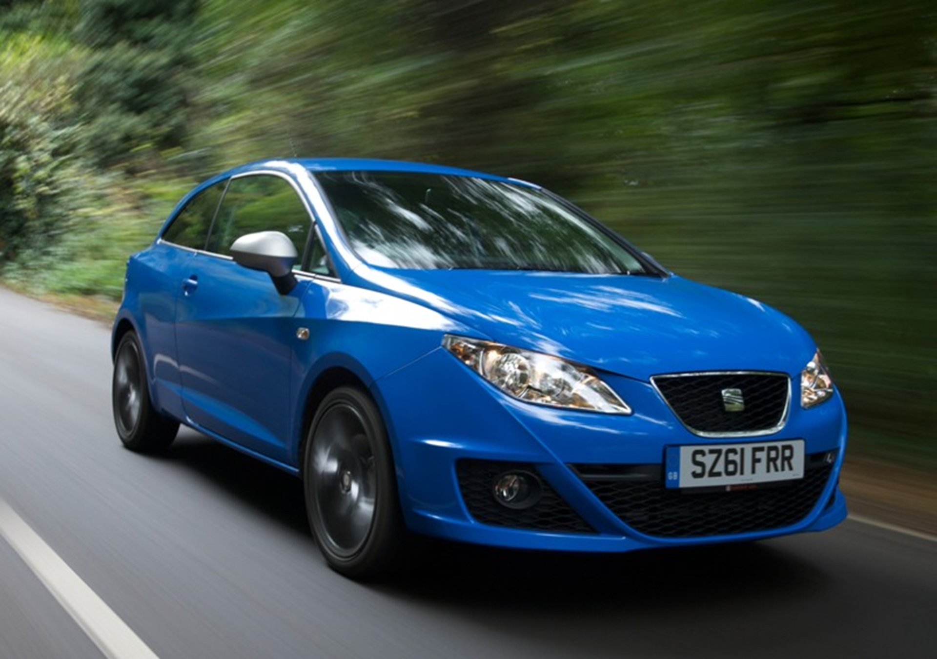 The sporty Ibiza supermini remains SEAT's best-seller