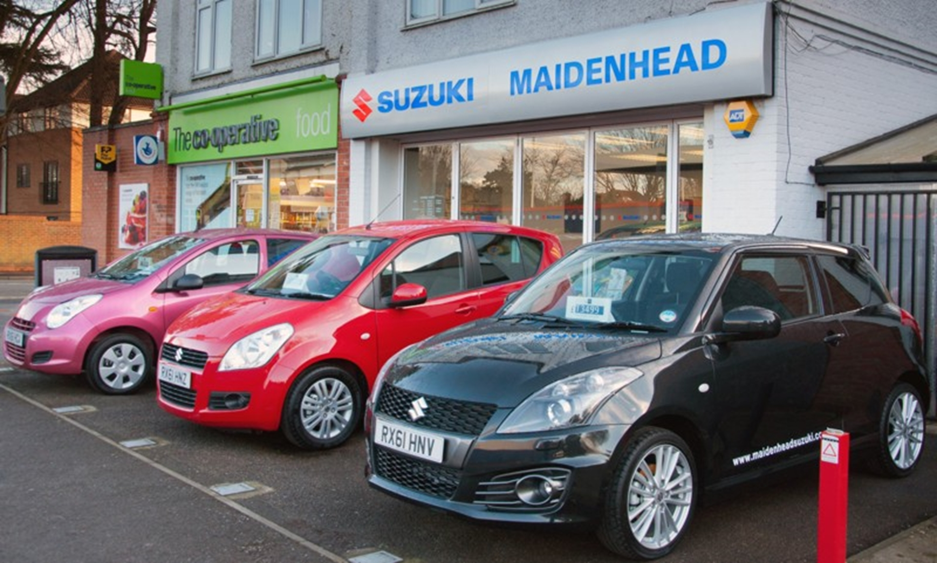 Maidenhead Suzuki opens for business