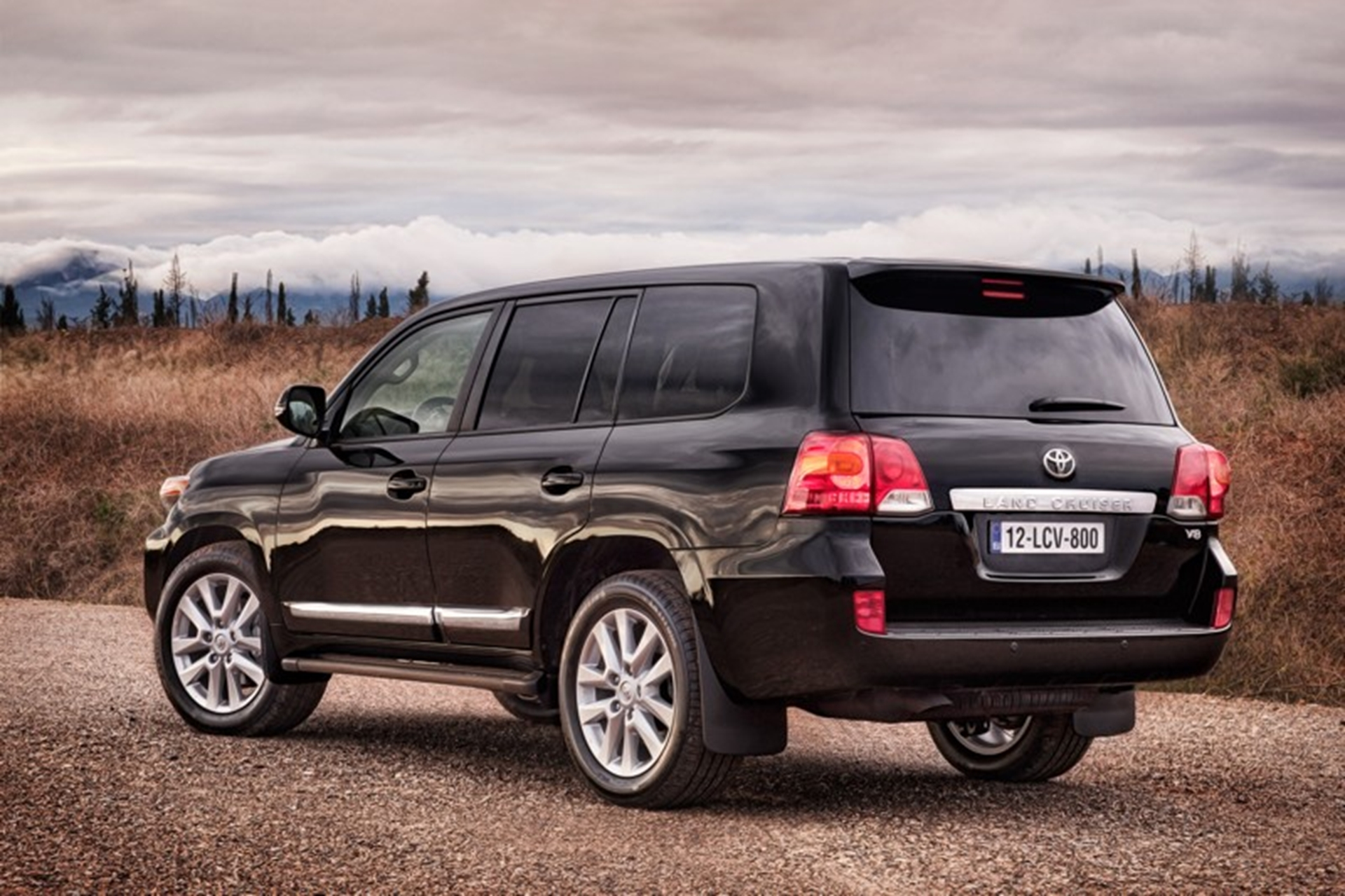 Toyota Land Cruiser 2012 Rear