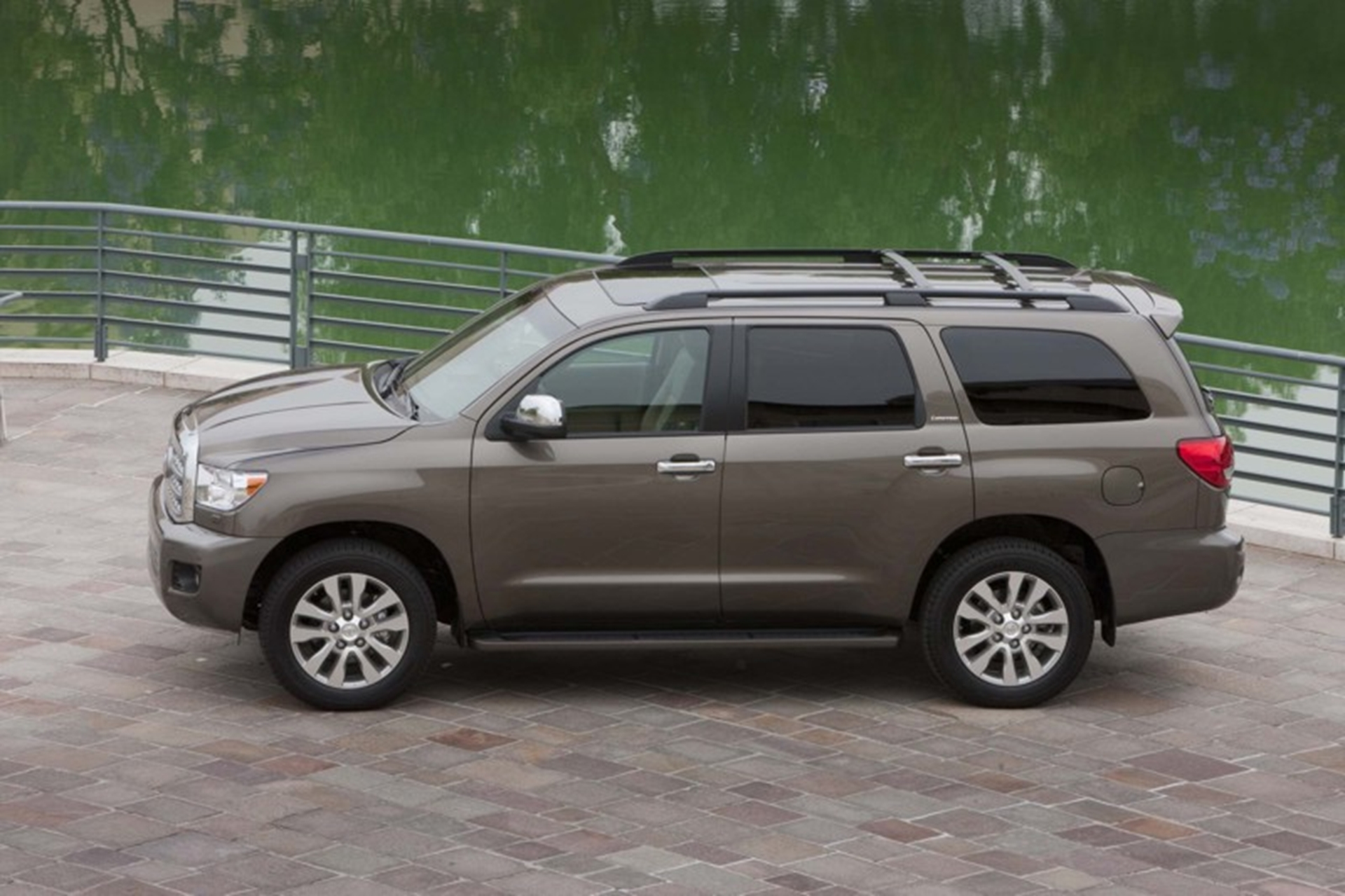 Toyota Sequoia Adds Trailer Sway Control and Blind Spot Monitor