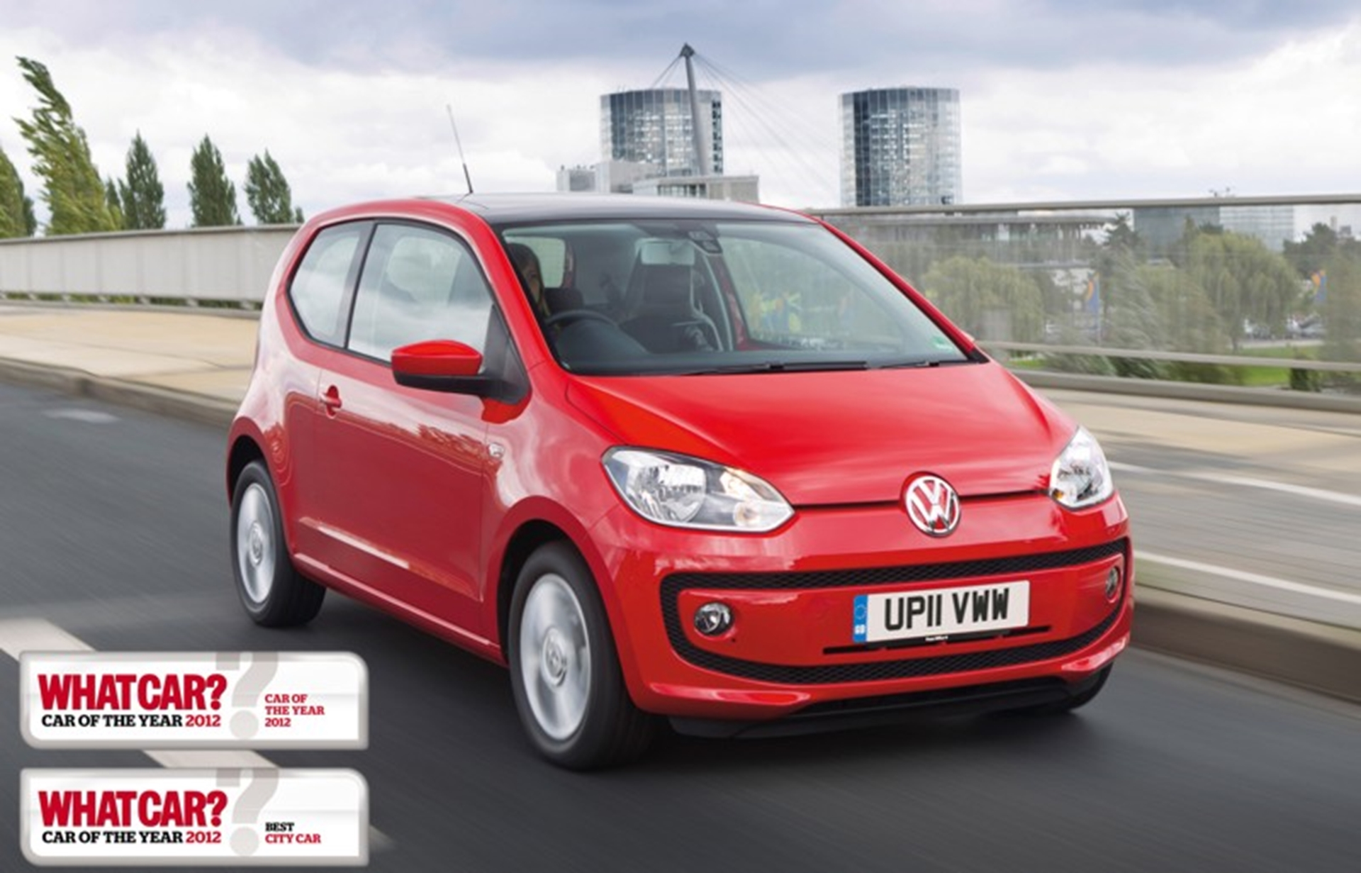 Volkswagen up! named What Car? Car of the Year 2012