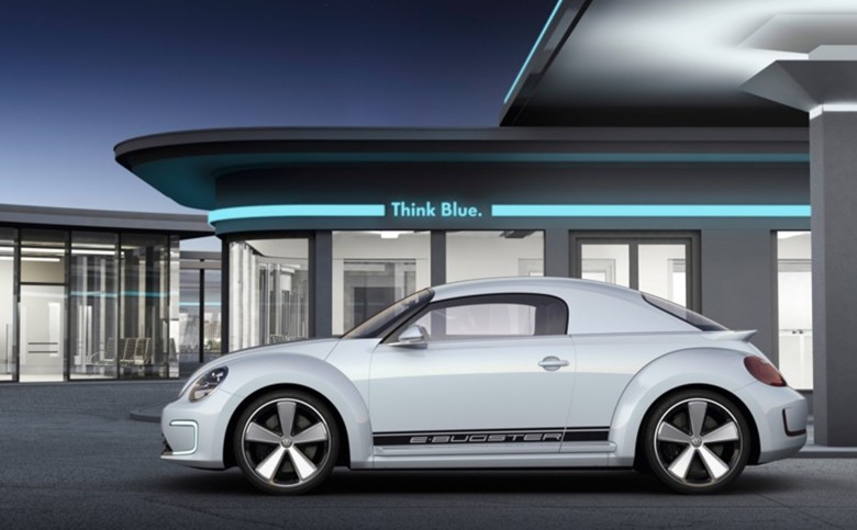 The Volkswagen E-Bugster concept