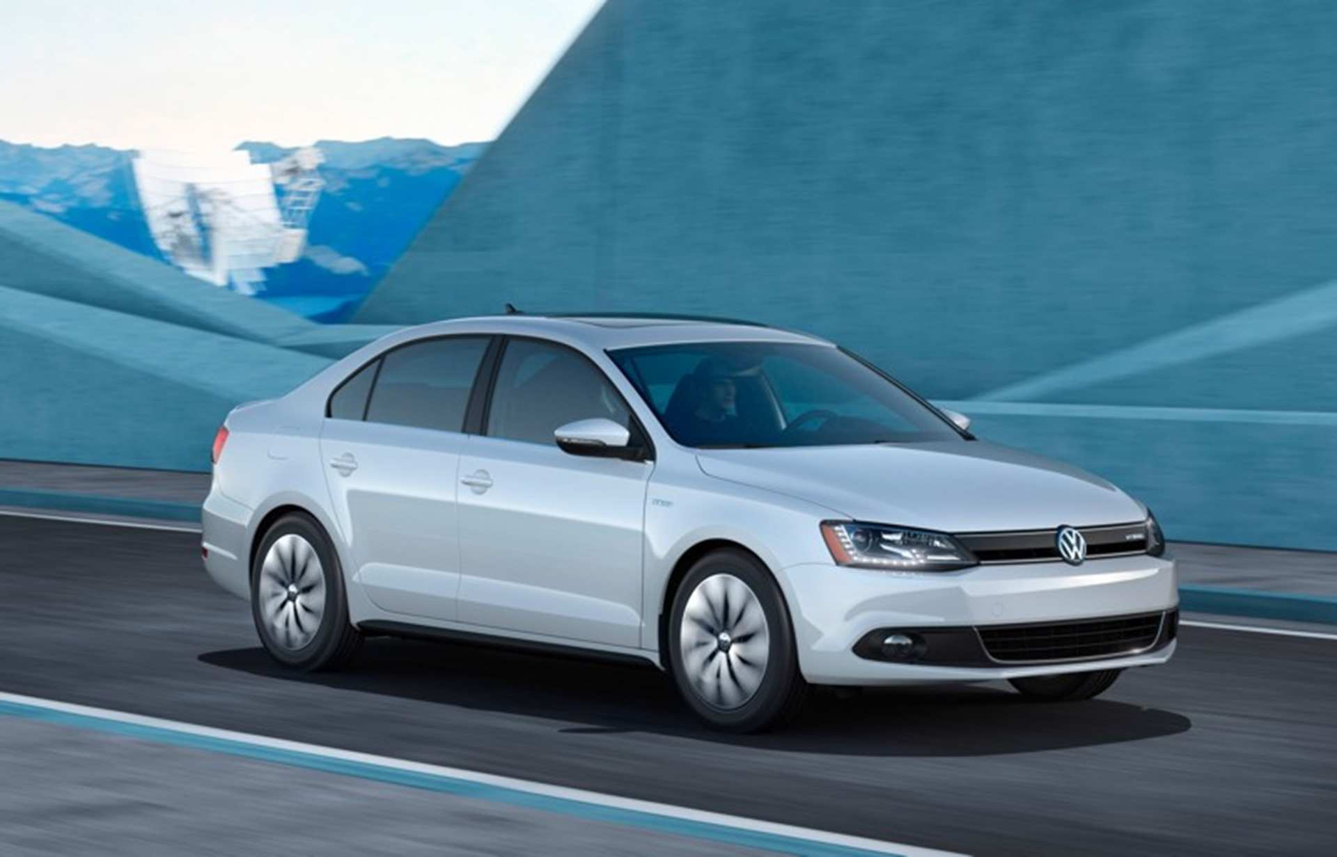 The Volkswagen Jetta Hybrid