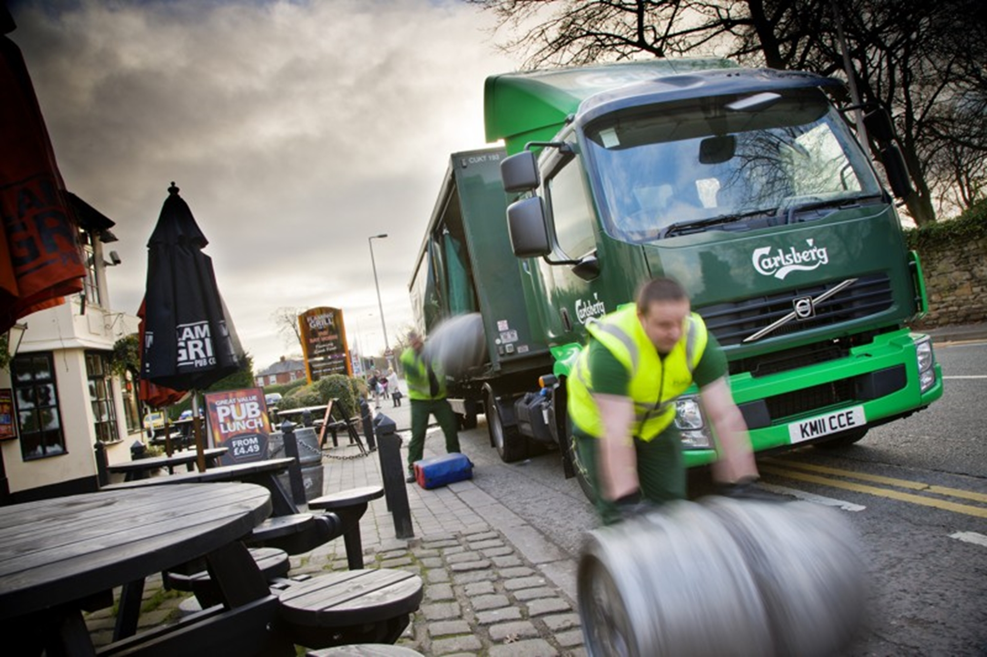 16 new Volvo vehicles entered service with Carlsberg UK Ltd