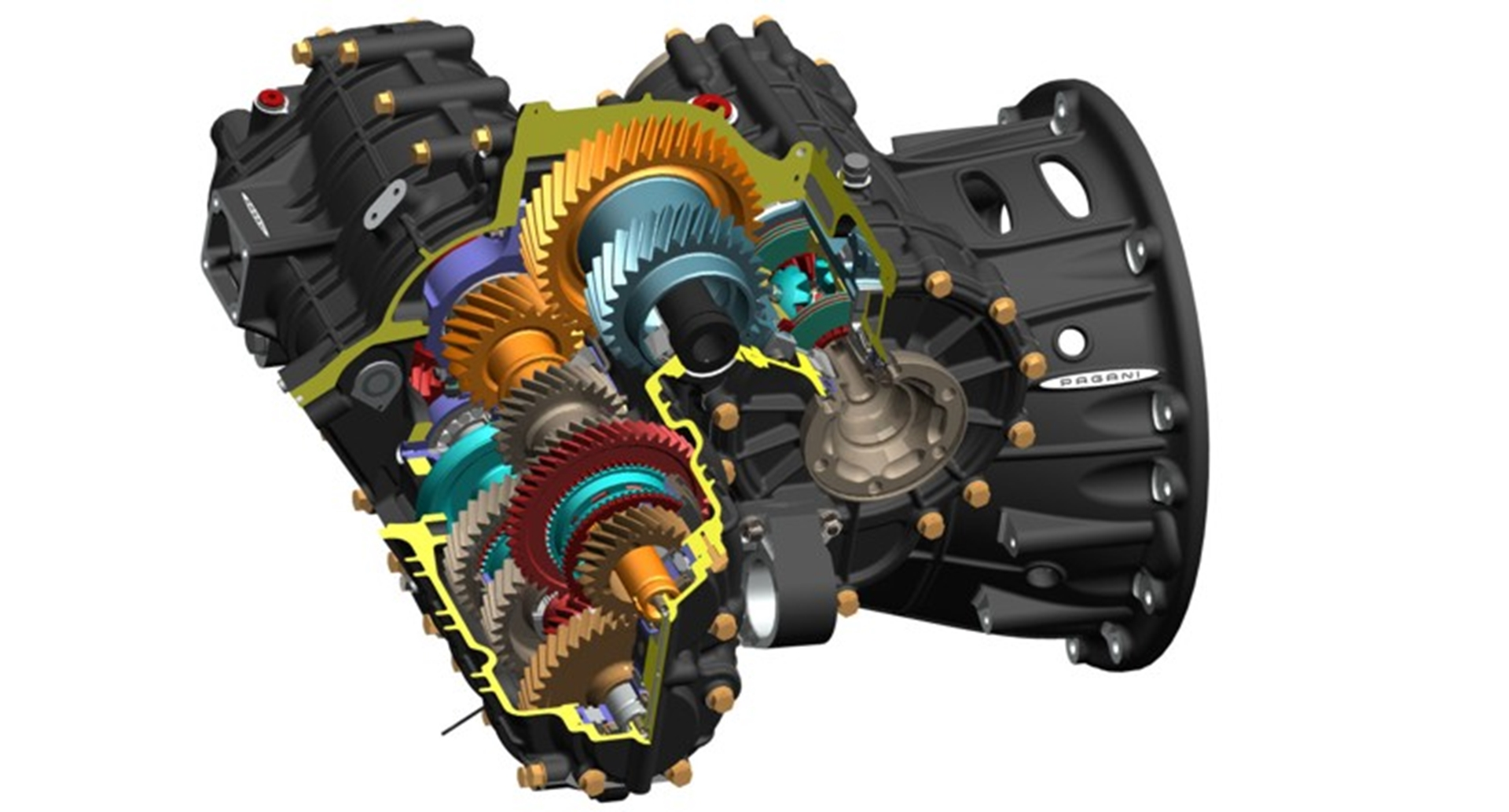 Xtrac 1007 gearbox developed for Pagani Huayra