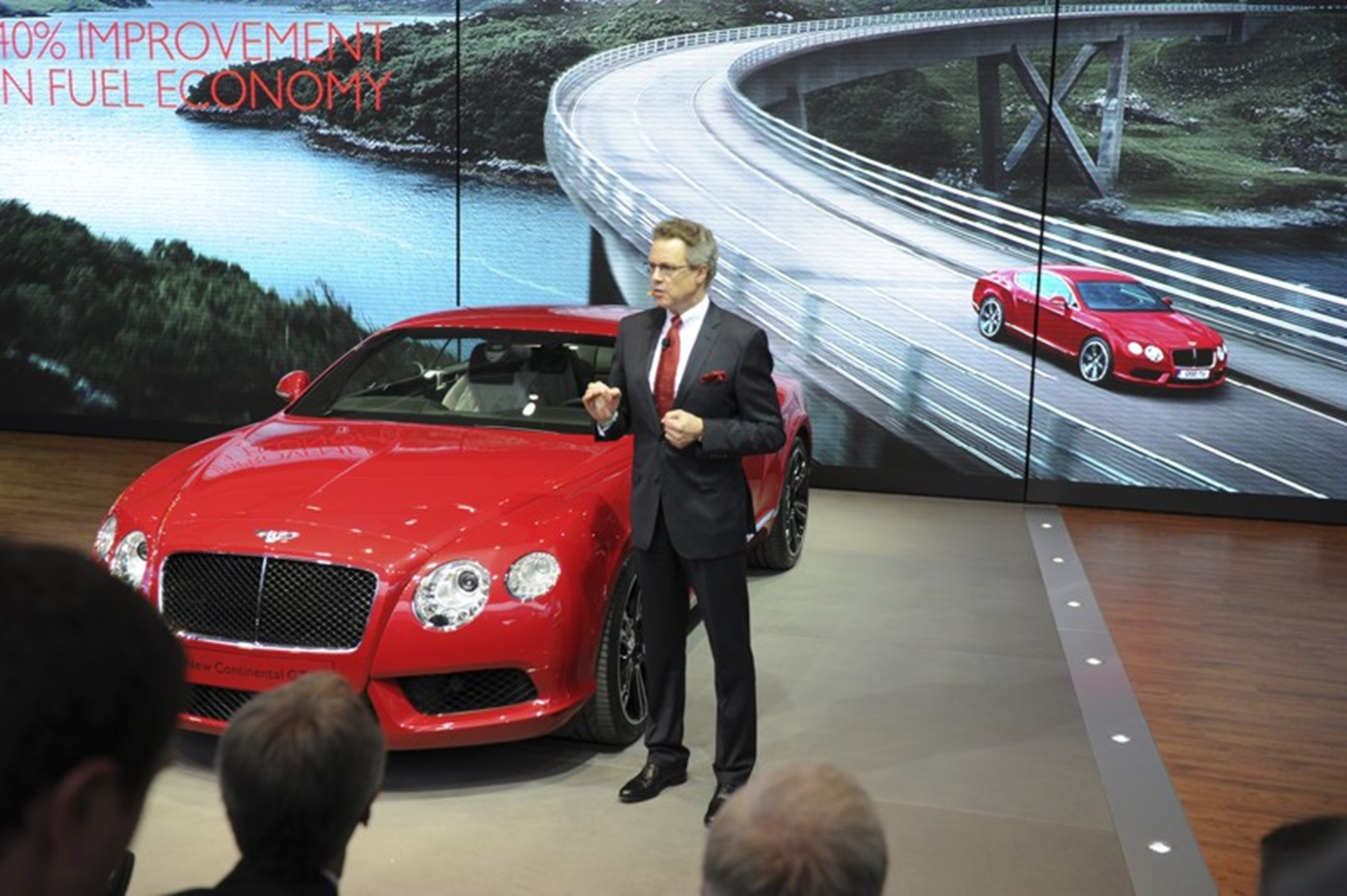 Bentley GT Reveal