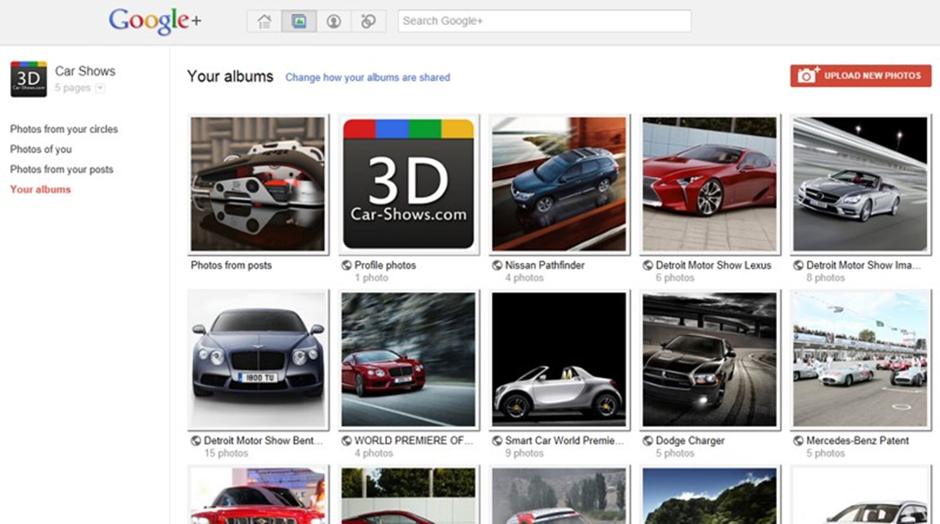 google +car-shows