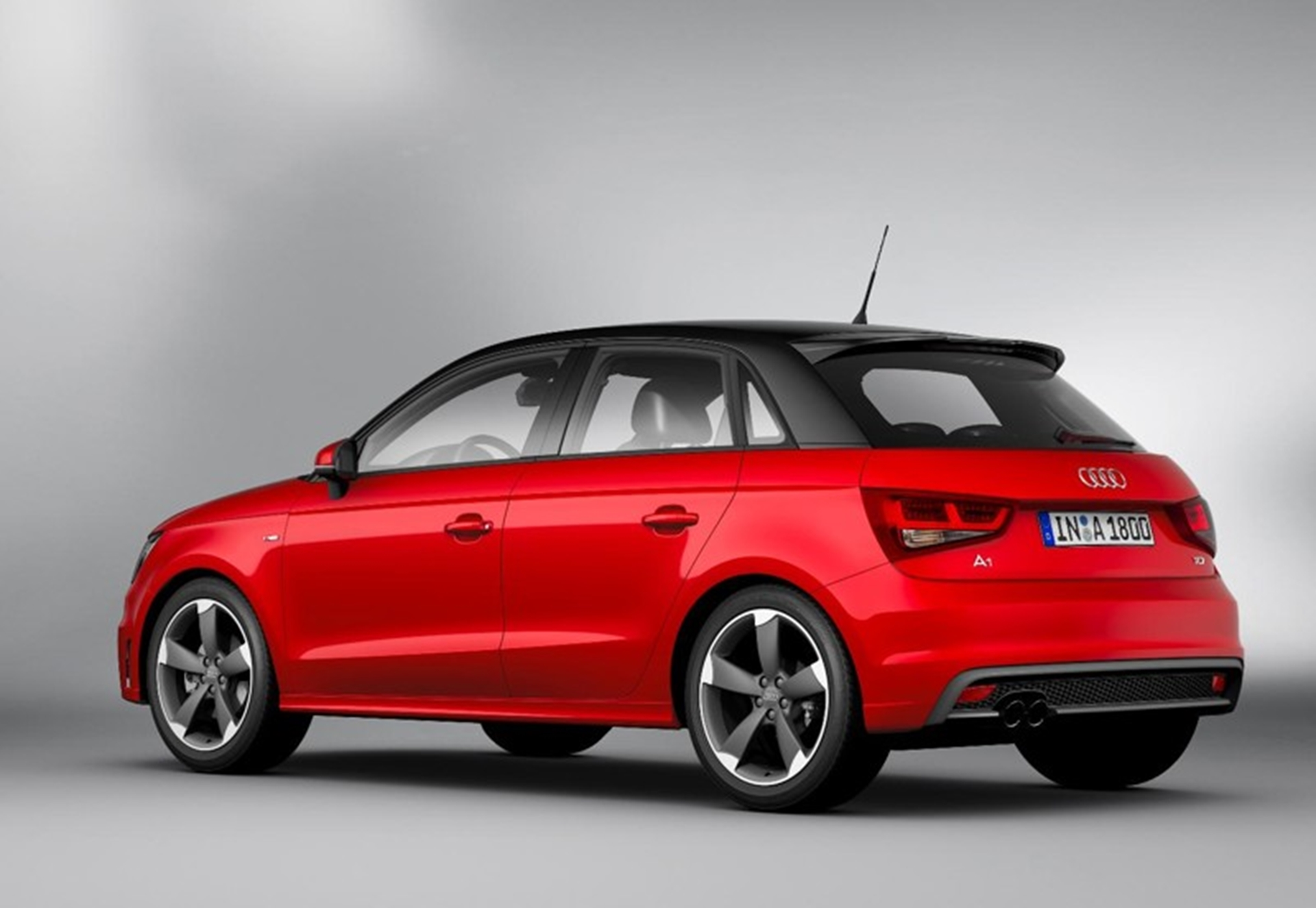 New Audi A1 Sportback 2012 Side View