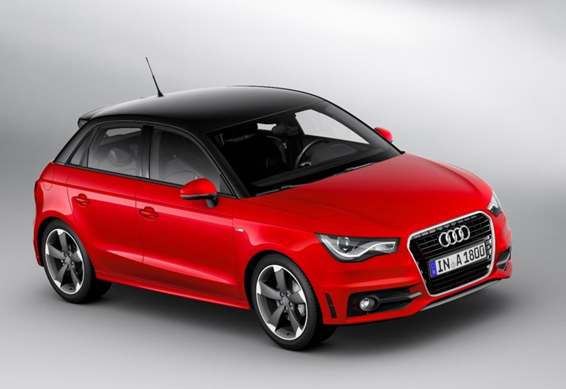 New Audi A1 Sportback Front View