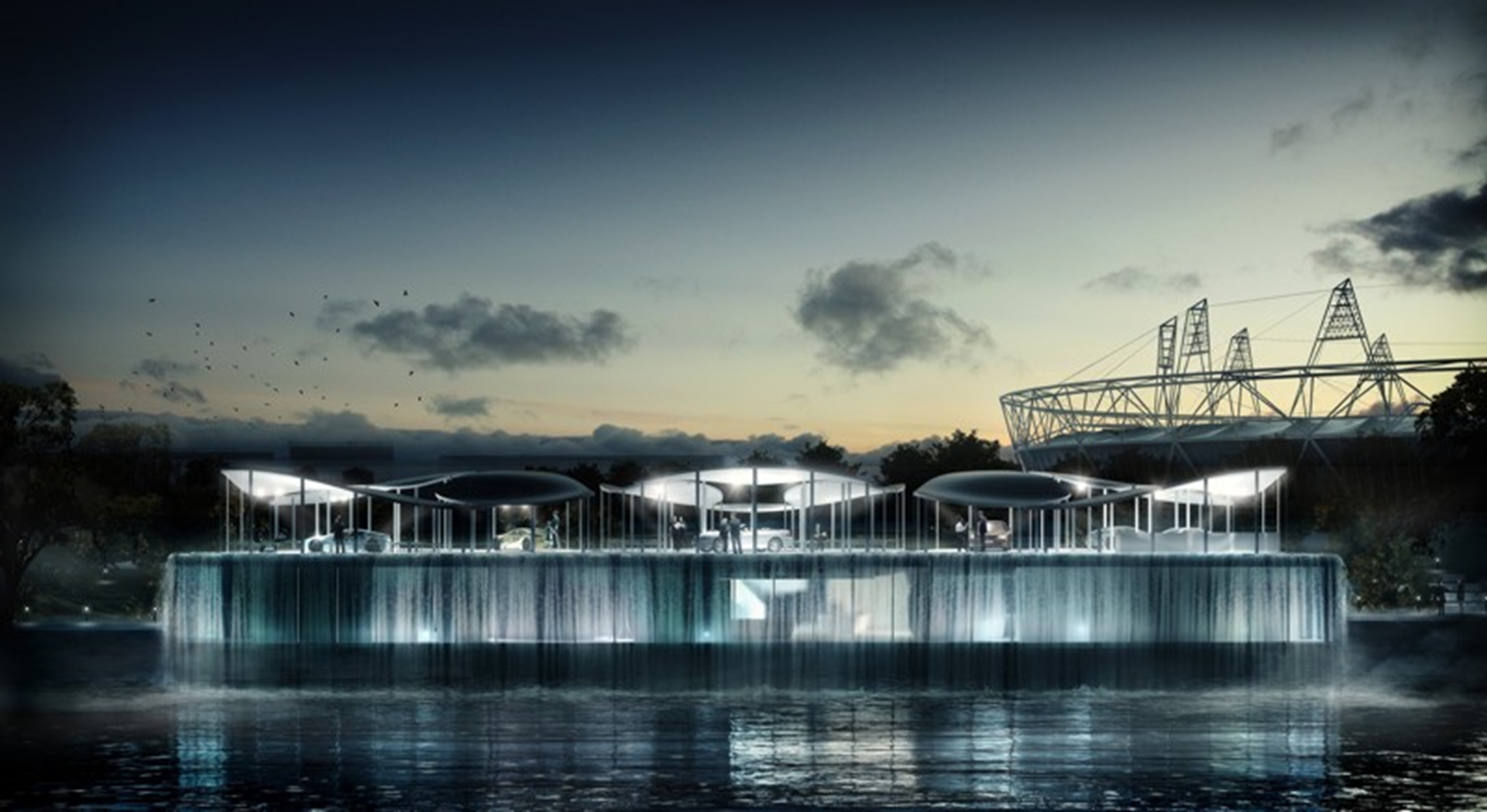 BMW Group reveals winning design for Olympic pavilion