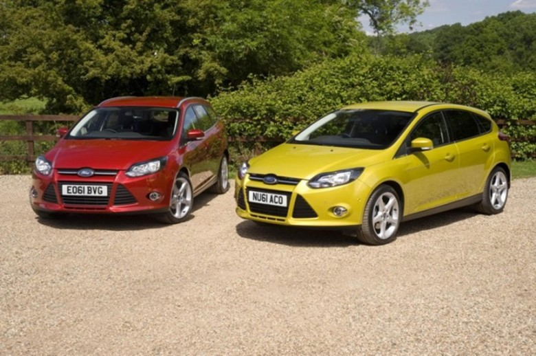Ford Focus is number two best-selling car in the UK, after Fiesta
