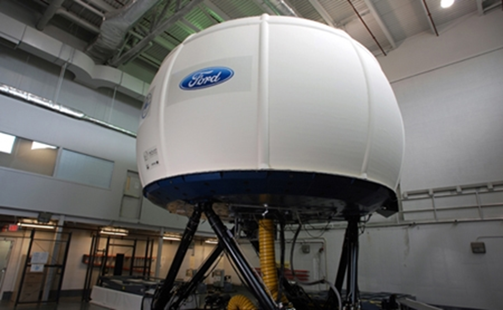 ford upgrades virtual reality simulator to help develop future safety technologies  driver aids
