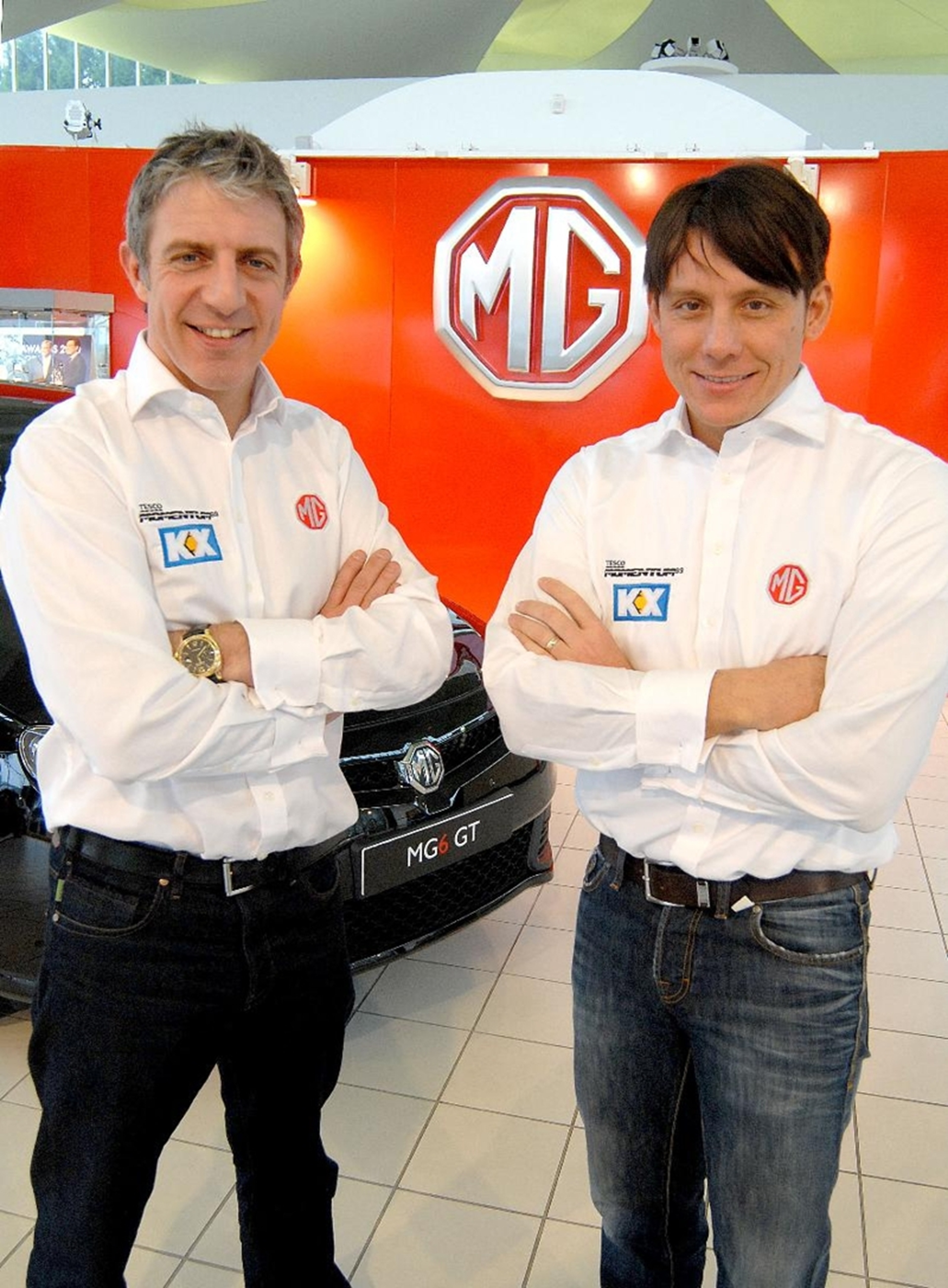 Jason Plato and Andy Neate