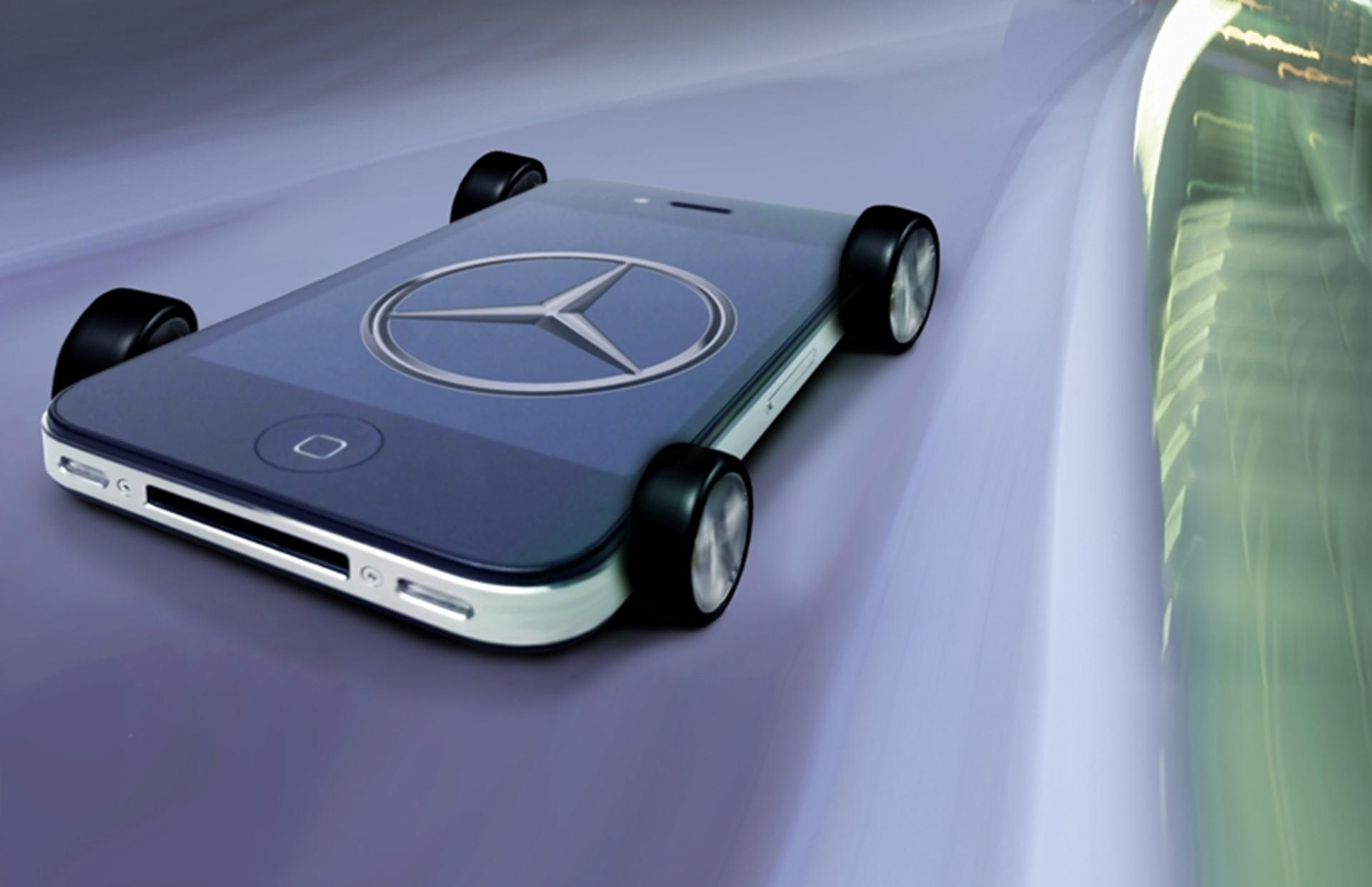 Mercedes-Benz Iphone