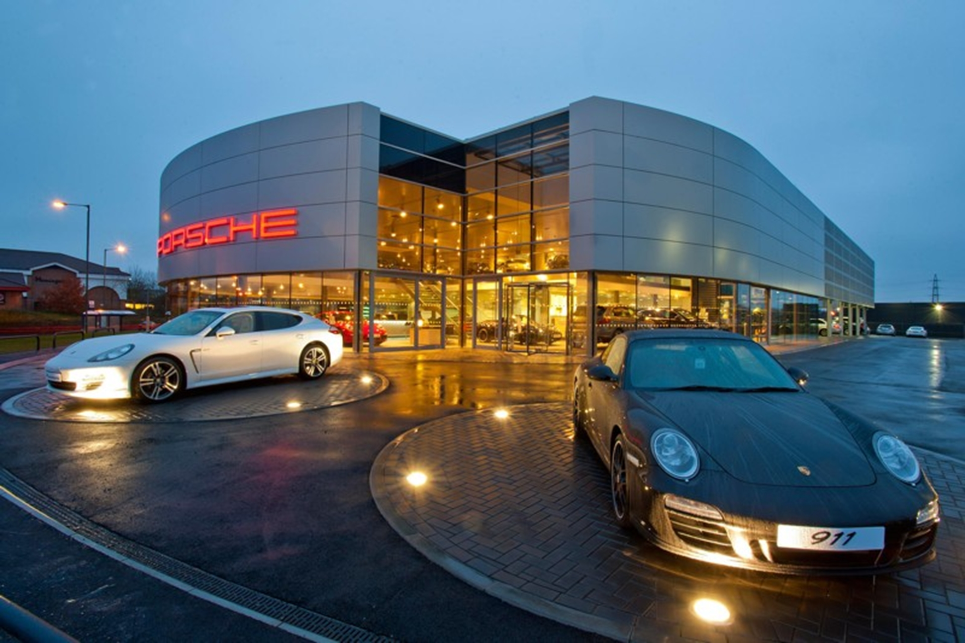 Porsche Centre Solihull Moves To Impressive New Showroom