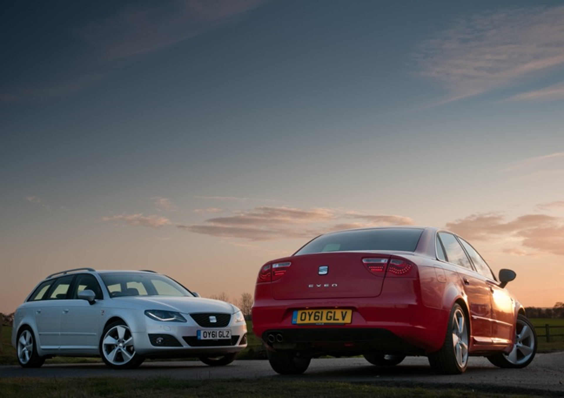 The 2012 SEAT Exeo ST and SEAT Exeo