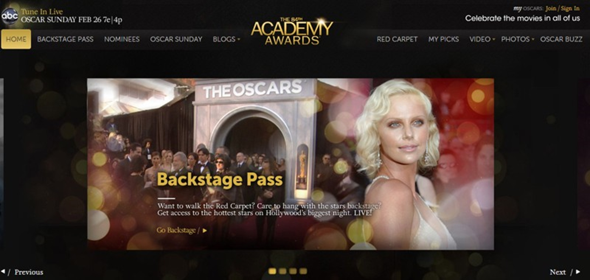 Academy Awards 2012