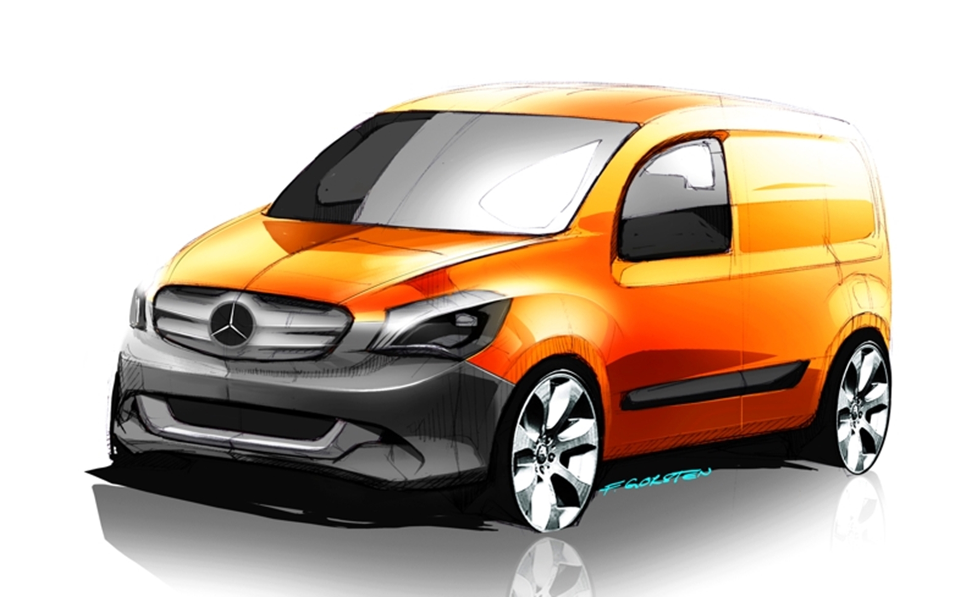 Mercedes benz citan the new urban delivery van from the for Mercedes benz salesman requirements