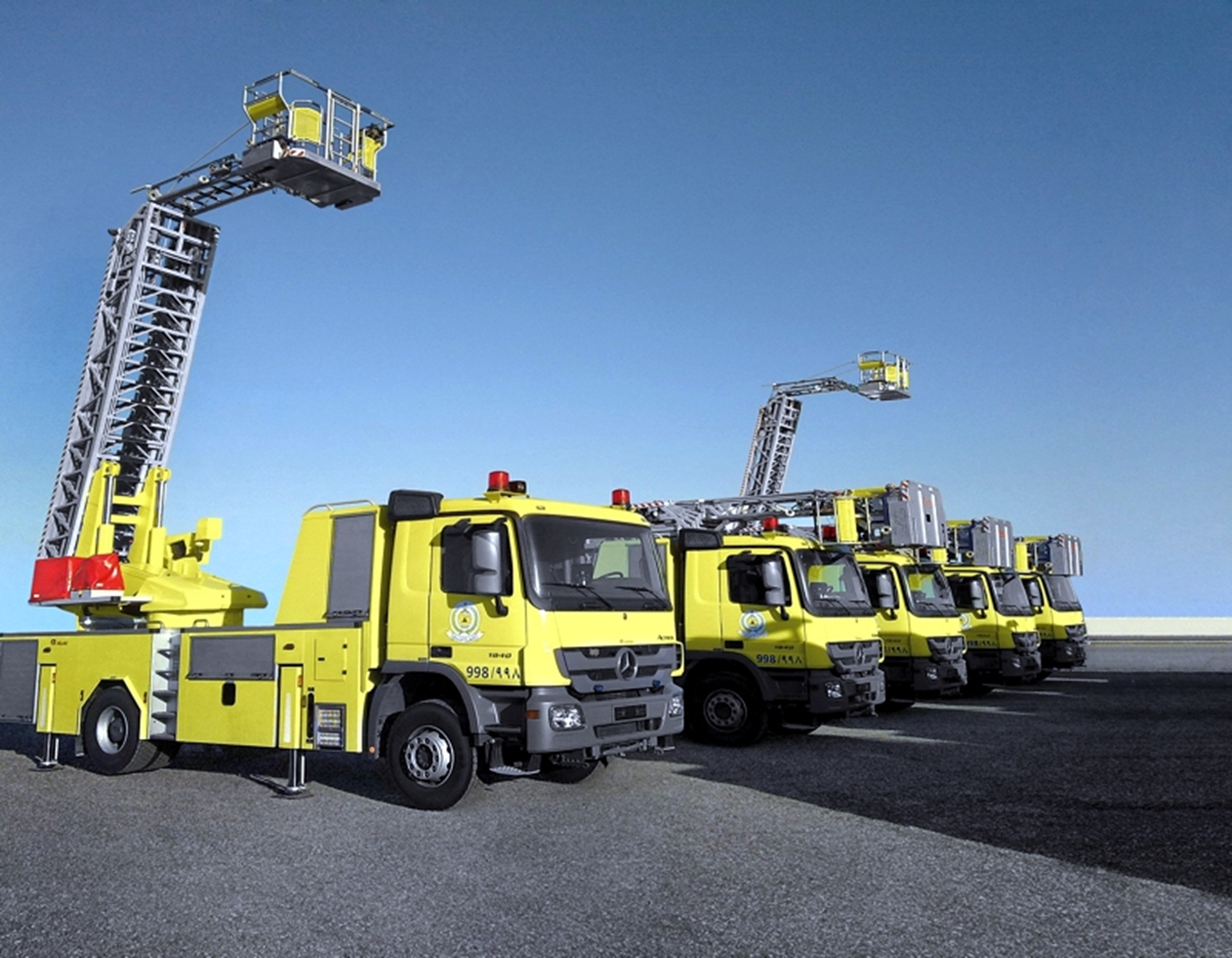 Mercedes-Benz Fire Trucks
