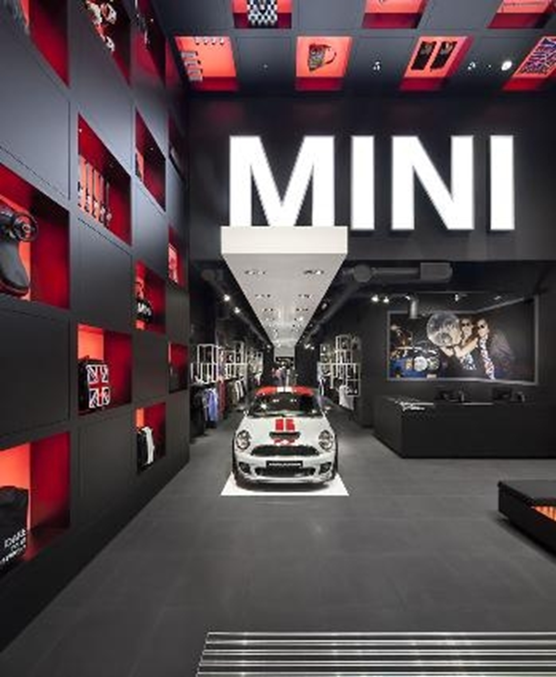 new MINI store at Westfield 2012
