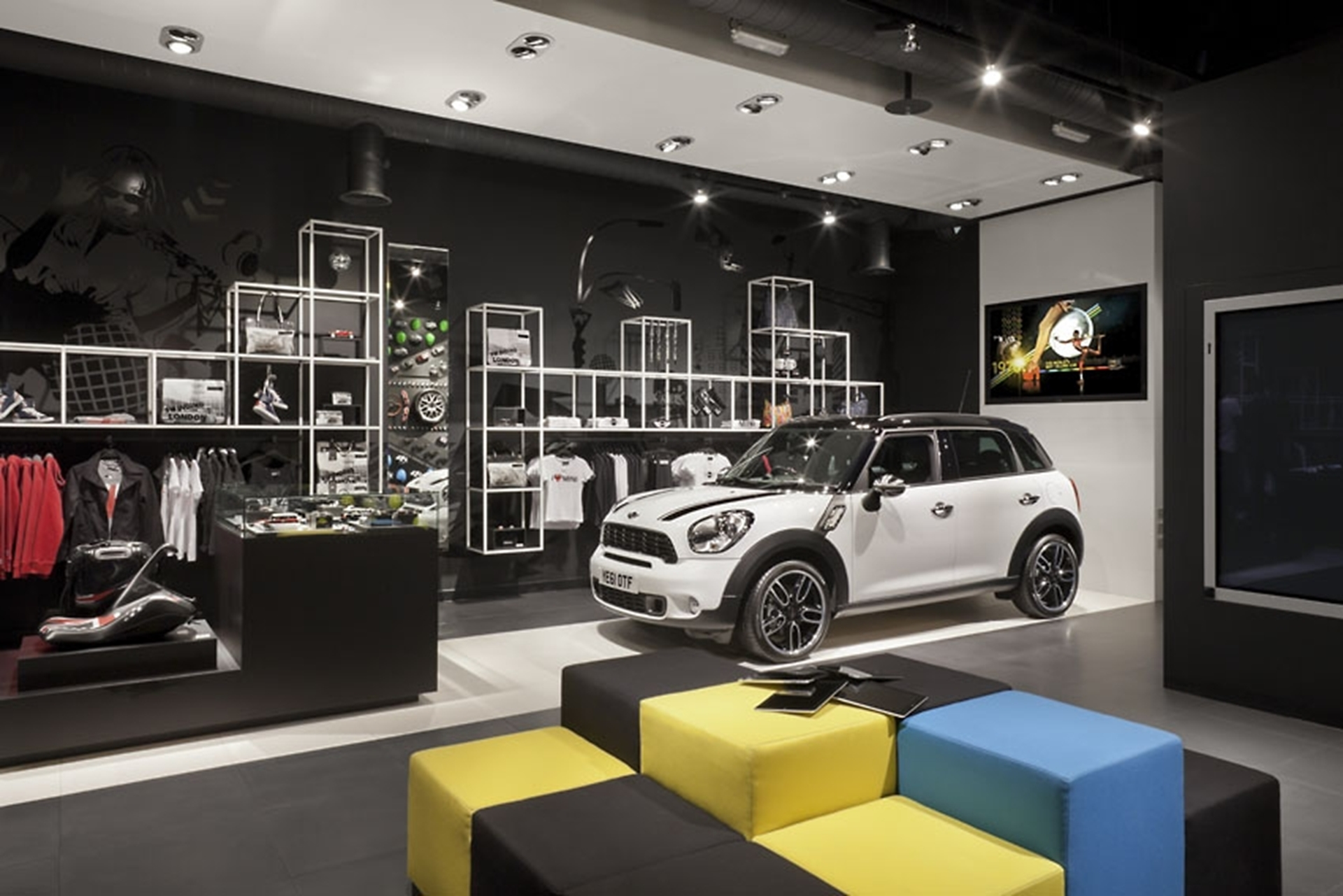 new MINI store at Westfield