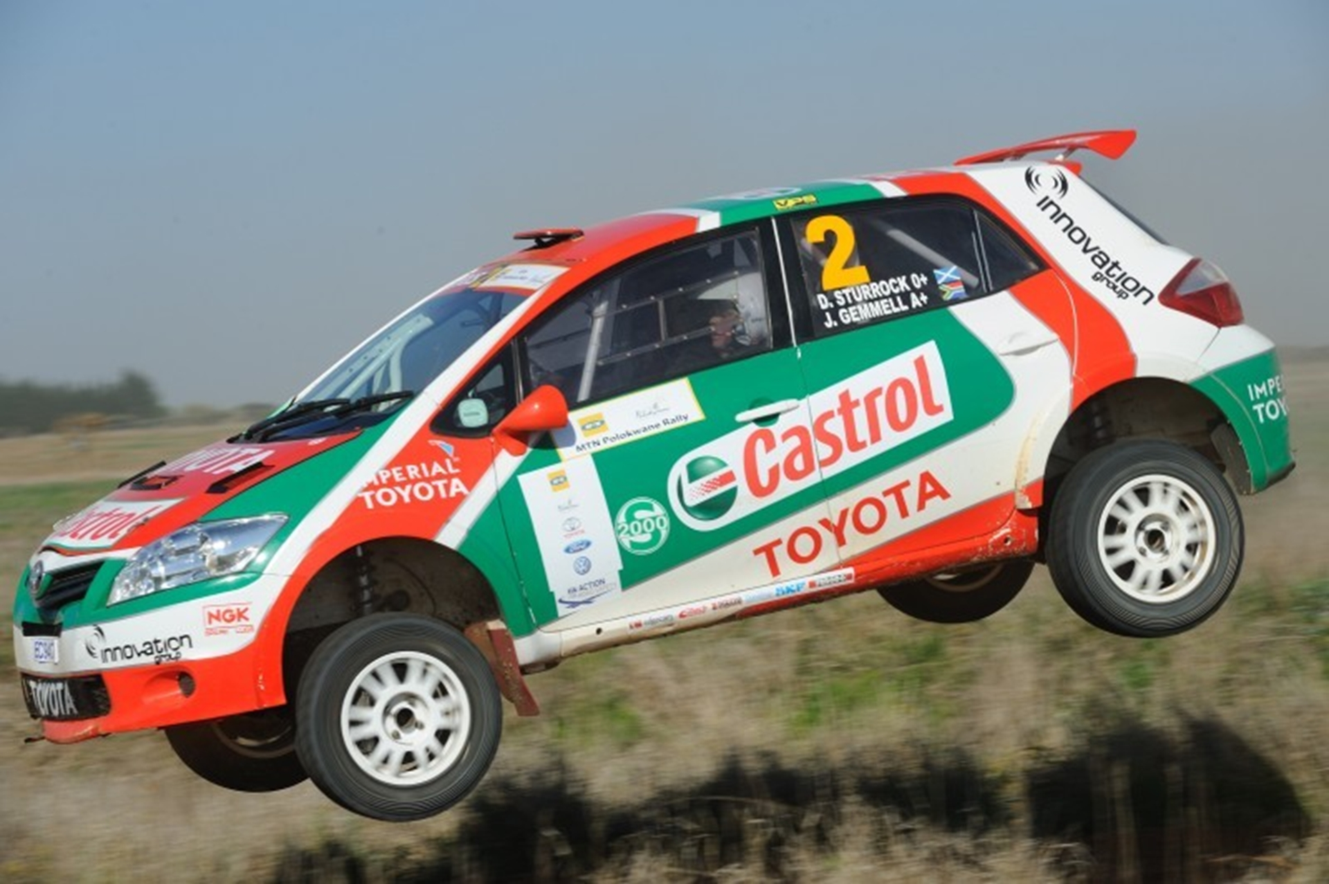 2012 National Rally Championship