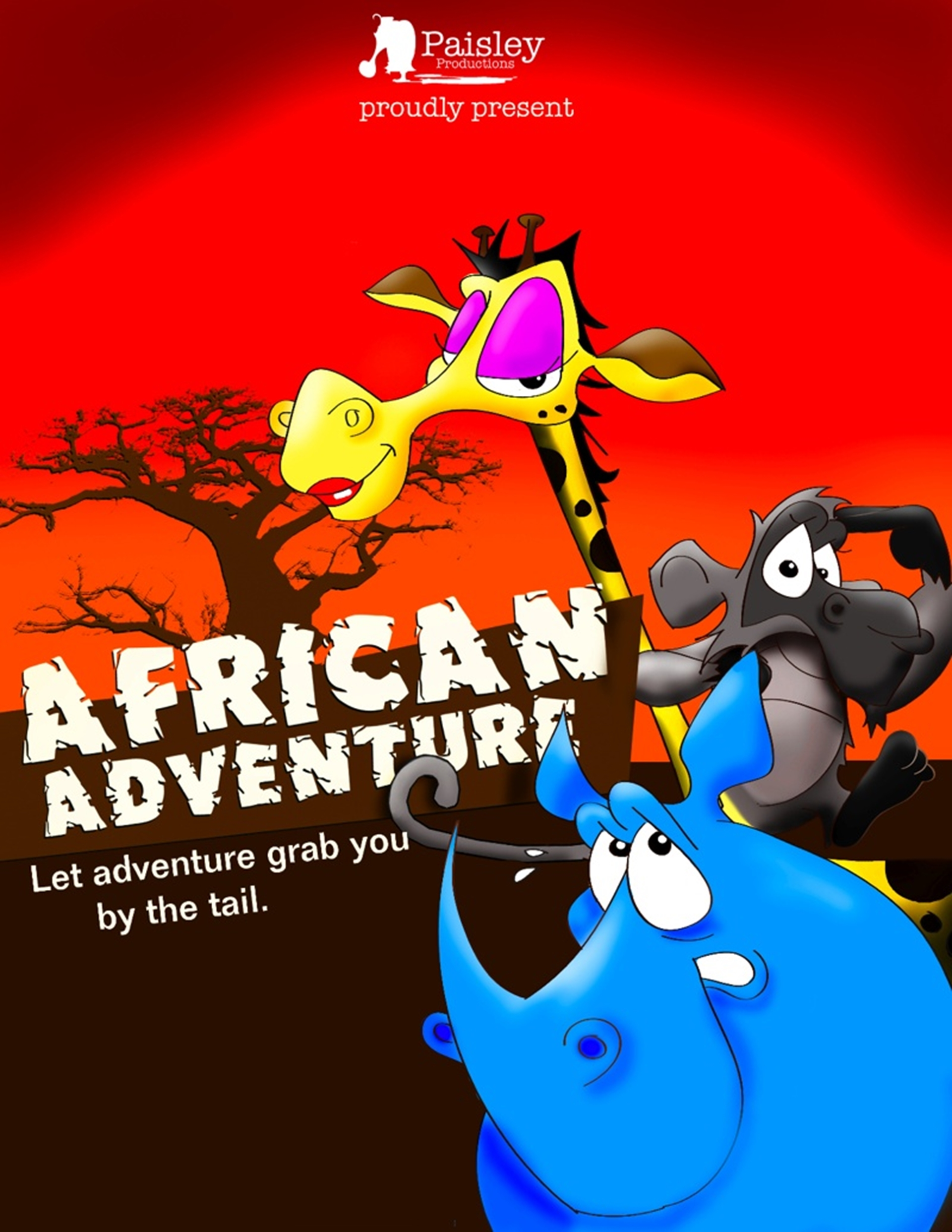 African Adventure Poster