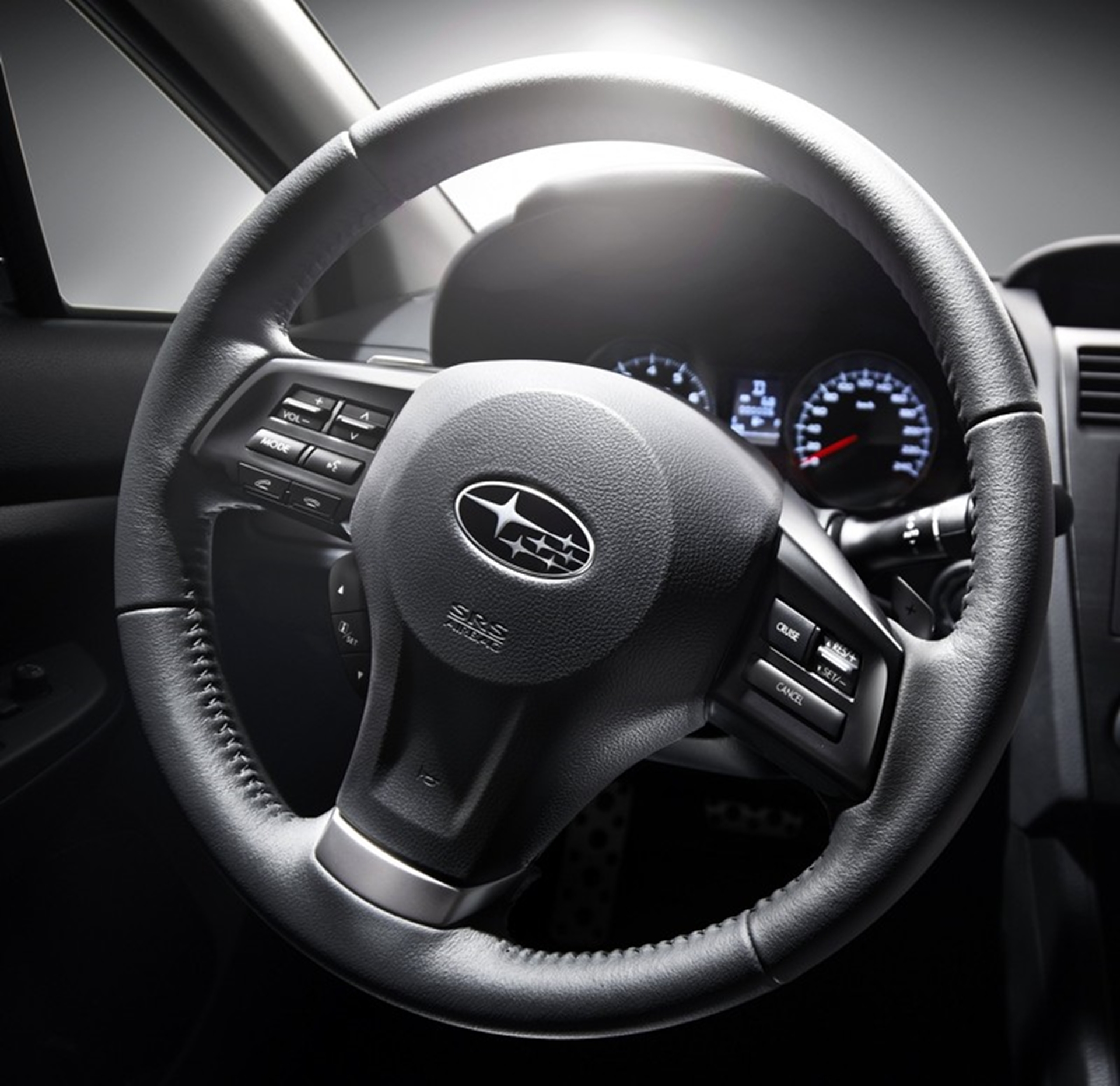 All new Subaru XV Crossover Steering