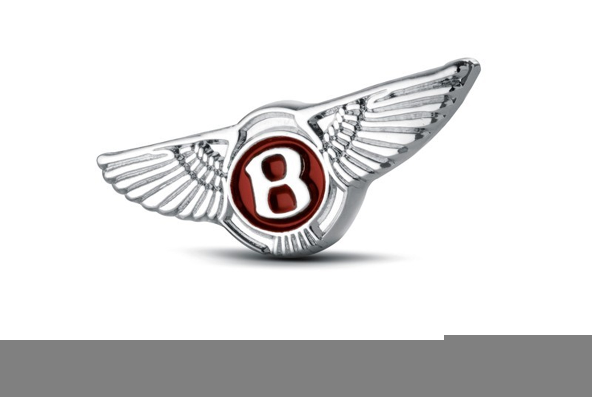 Bentley V8 Pin Badge