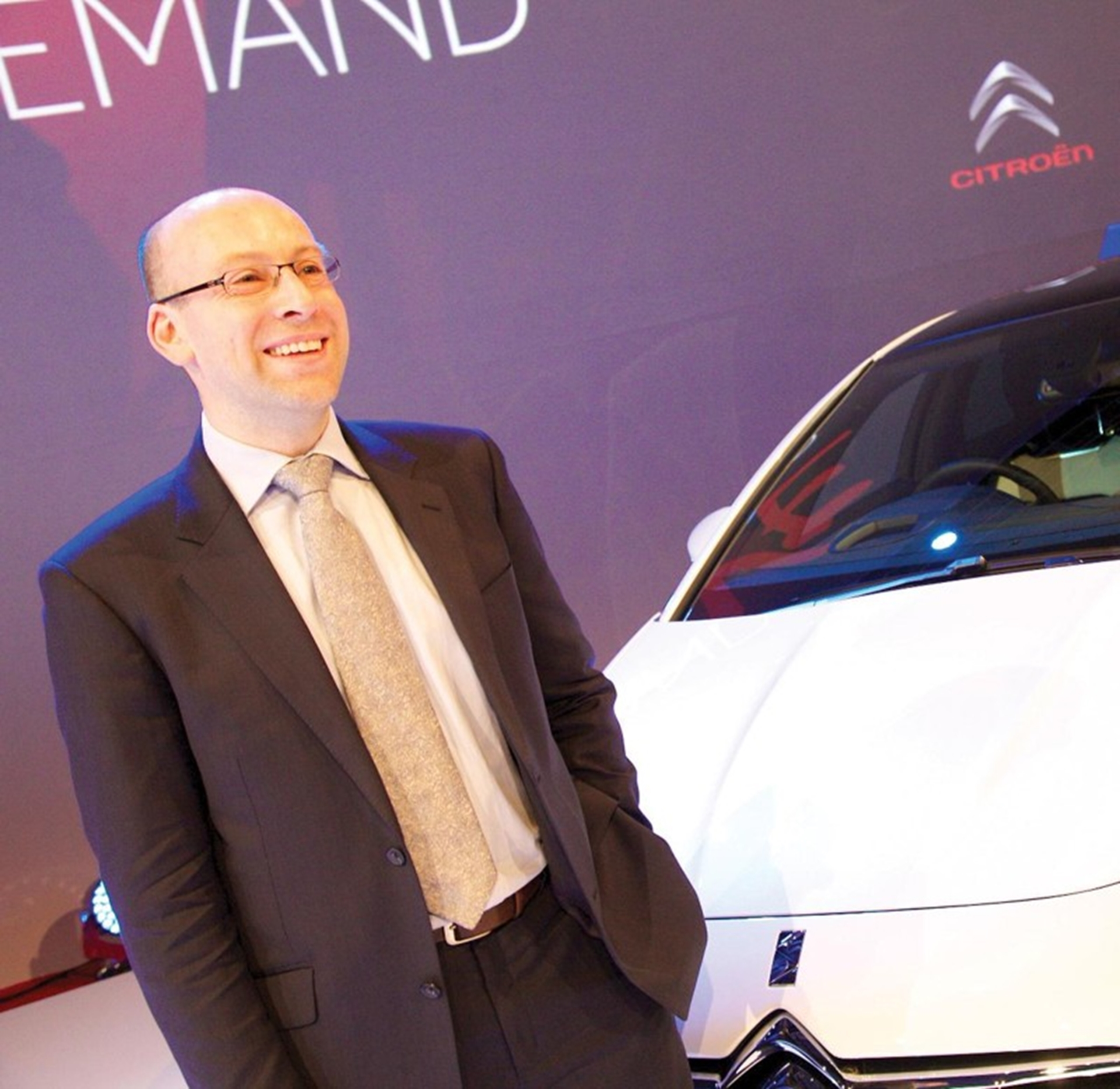 Citroen UK Fleet Director Andy Wady