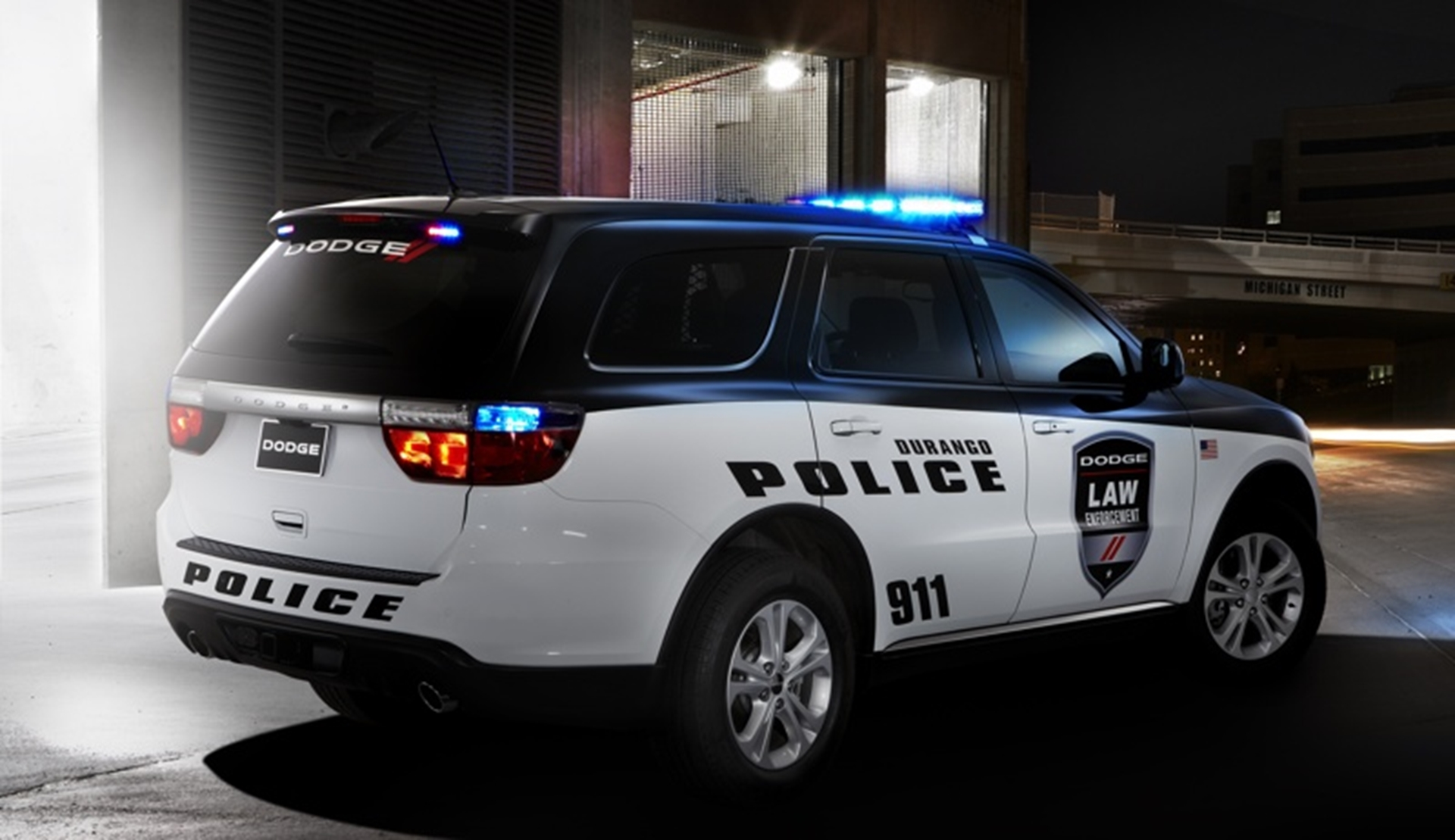 Dodge Durango Police Car