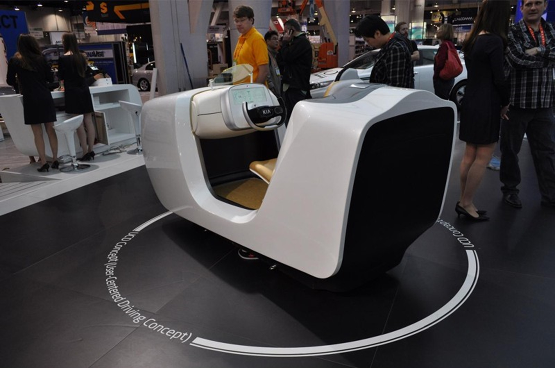 Kia User Centred Driving Concept
