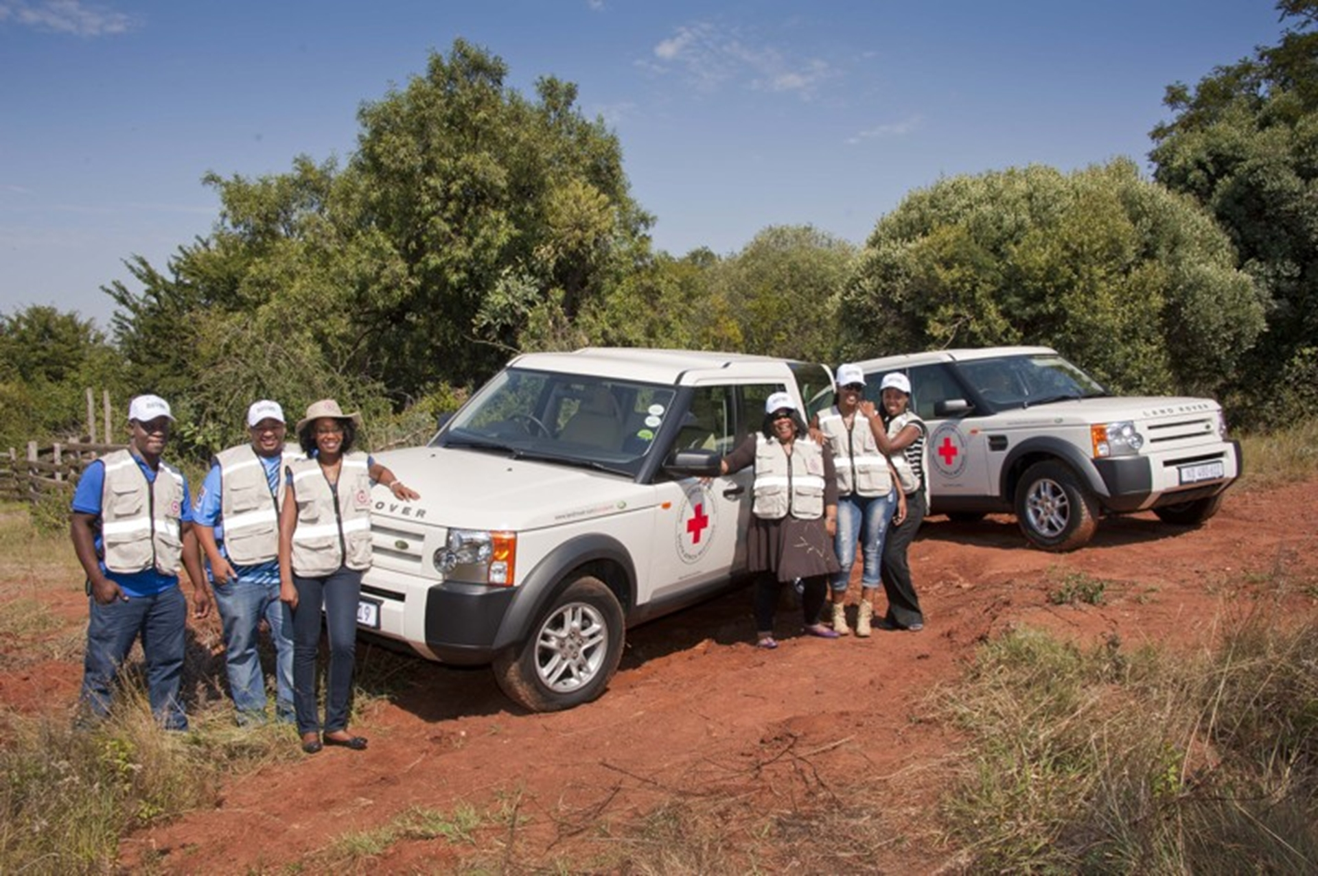 Land Rover Experience training