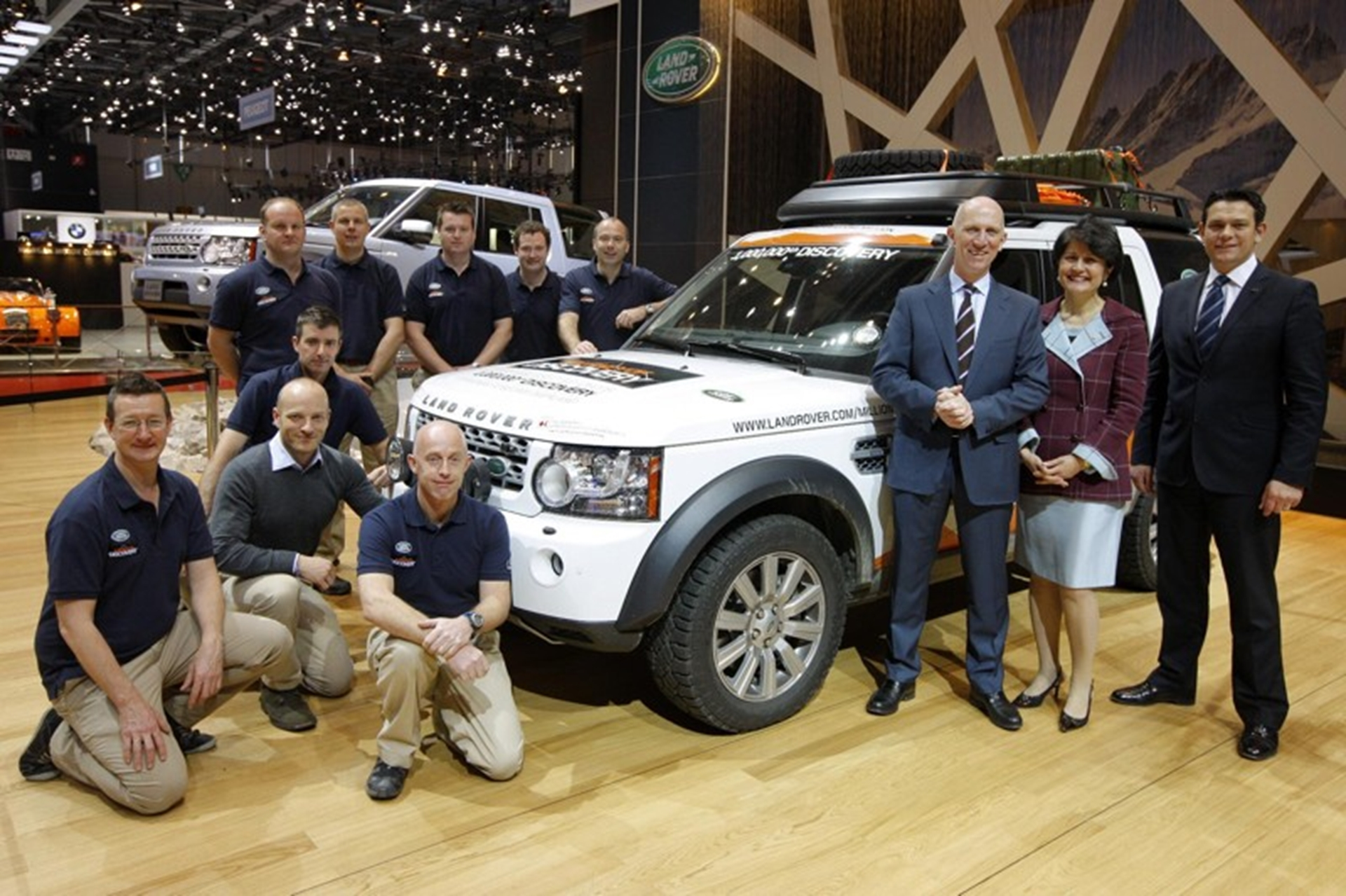 Land Rover Global Brand Extension Director