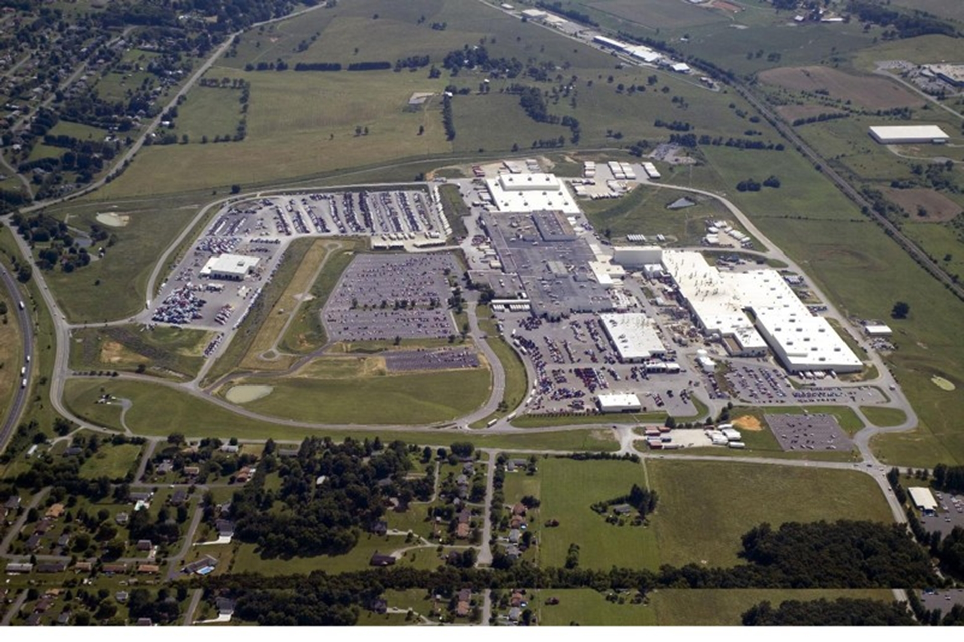 New River Valley assembly plant aerial