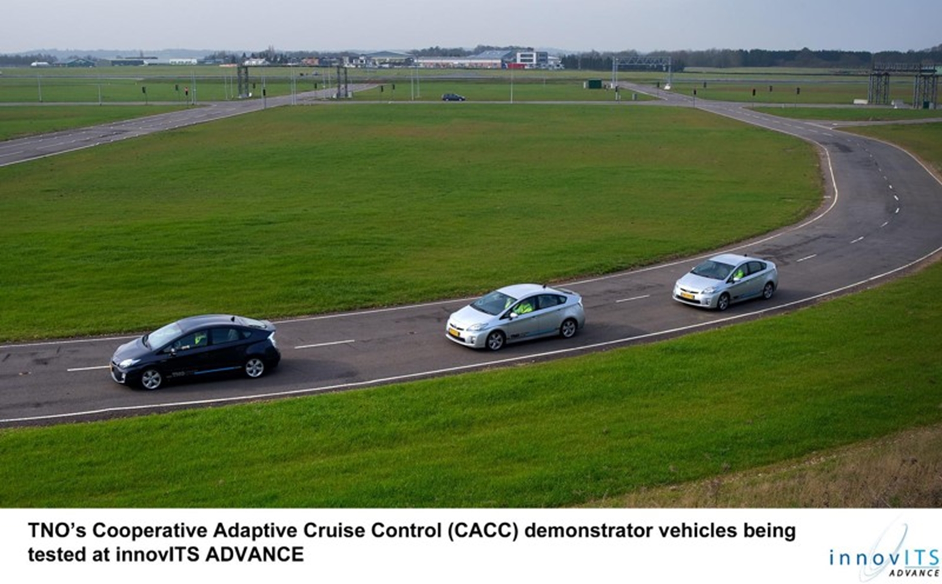 TNO CACC demonstrator vehicles 2012