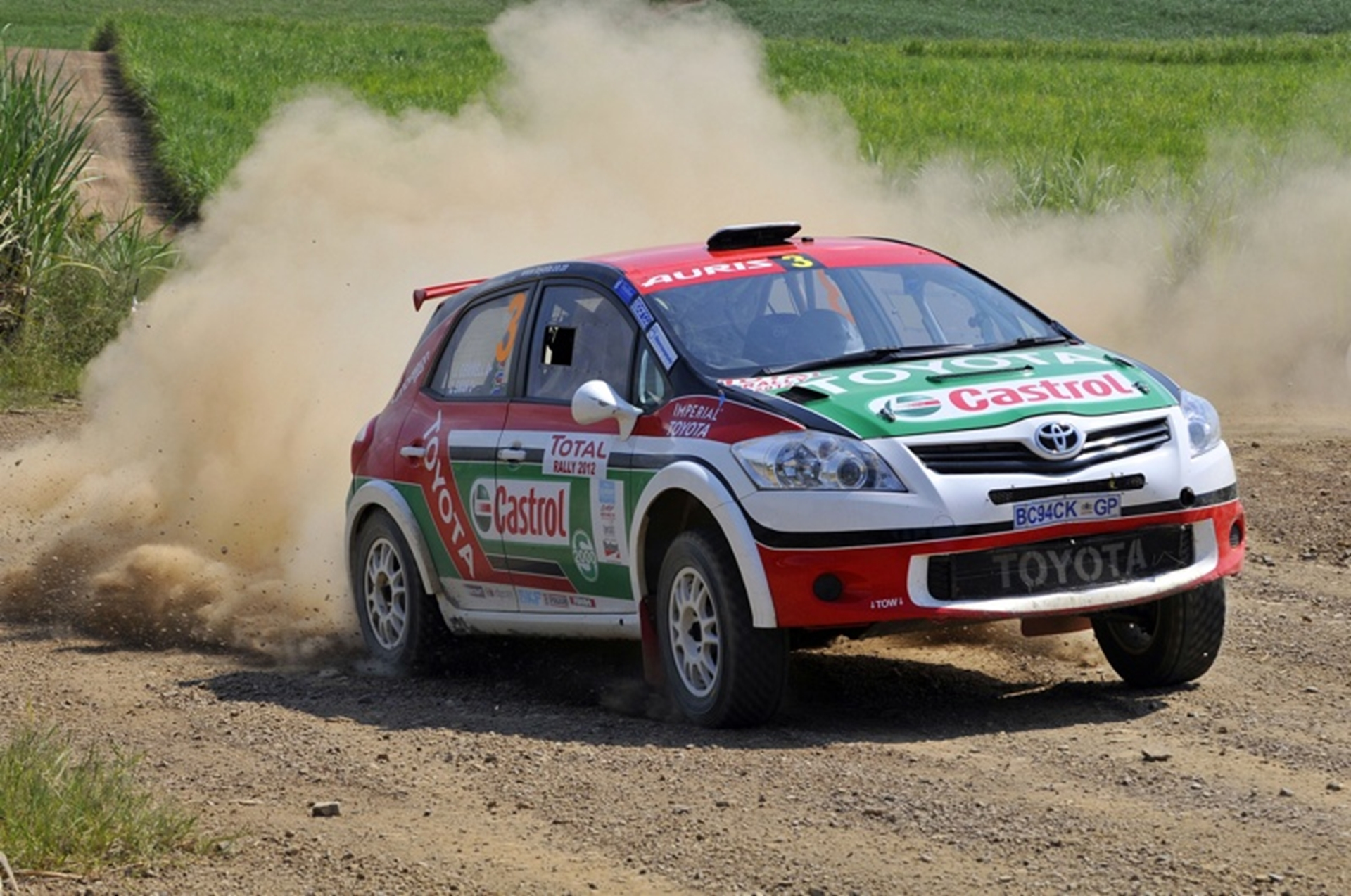 Toyota Rally South-Africa 2012