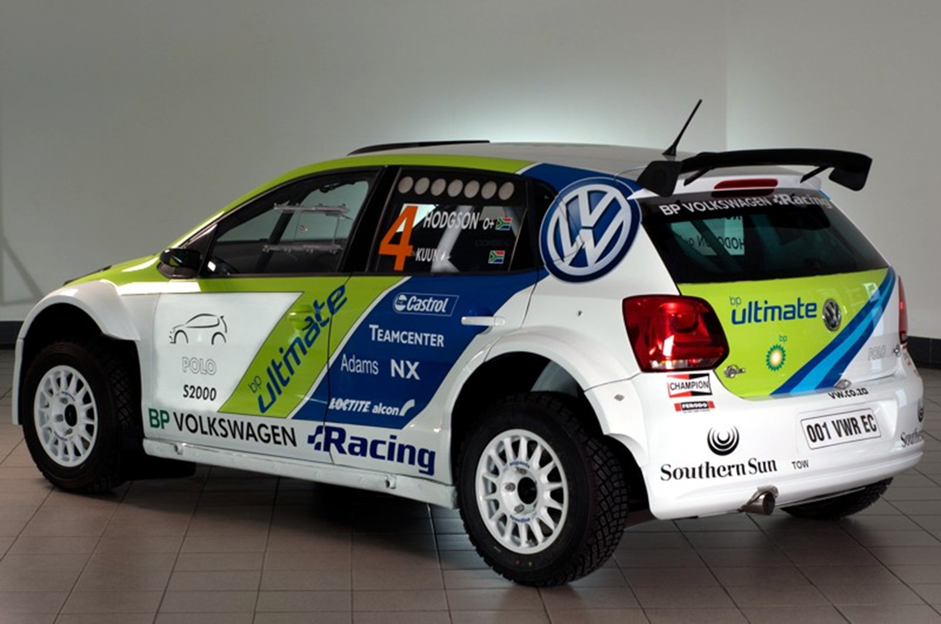 Volkswagen Rally Car